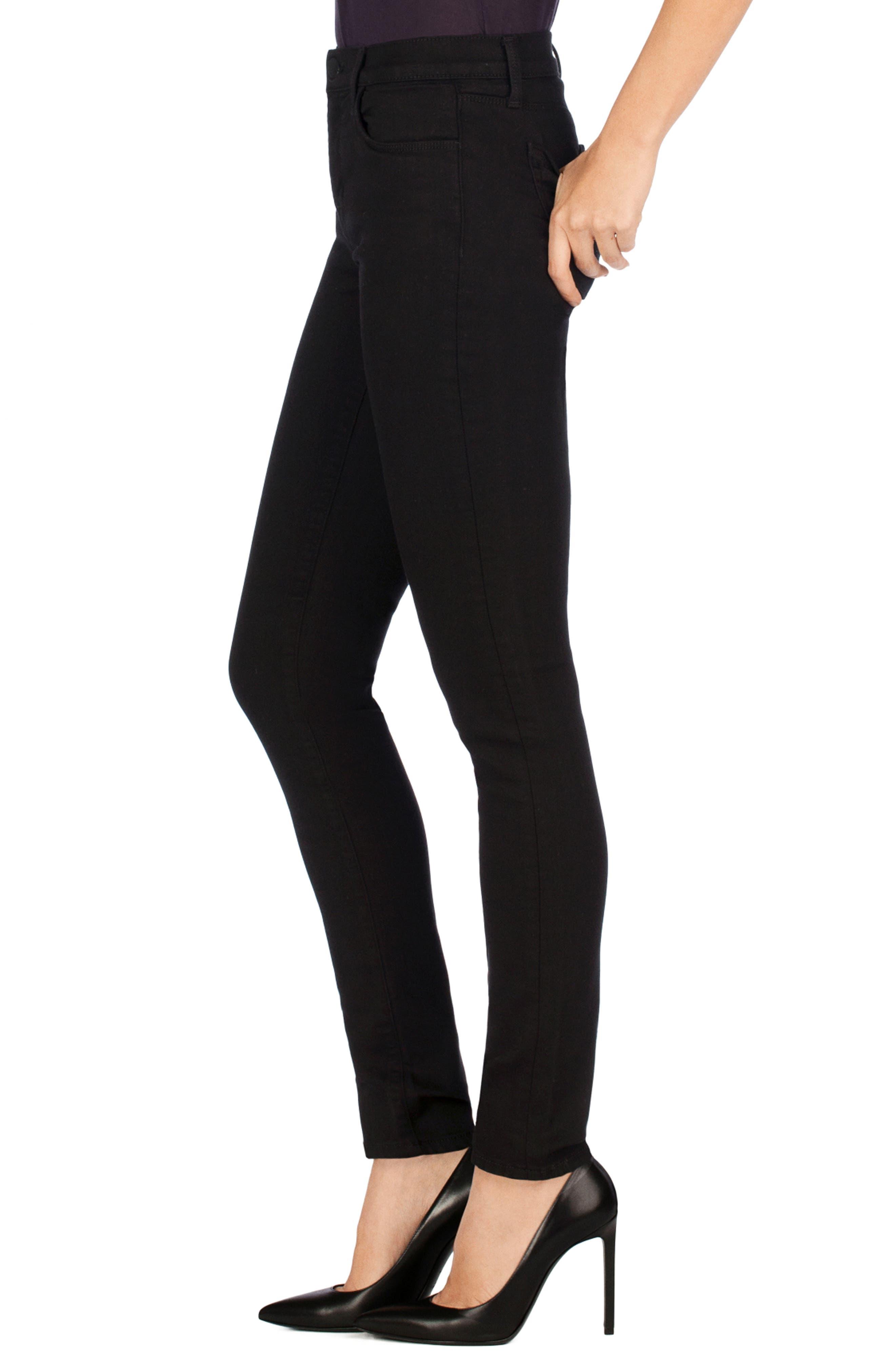J BRAND,                             Super Skinny Jeans,                             Alternate thumbnail 3, color,                             SERIOUSLY BLACK