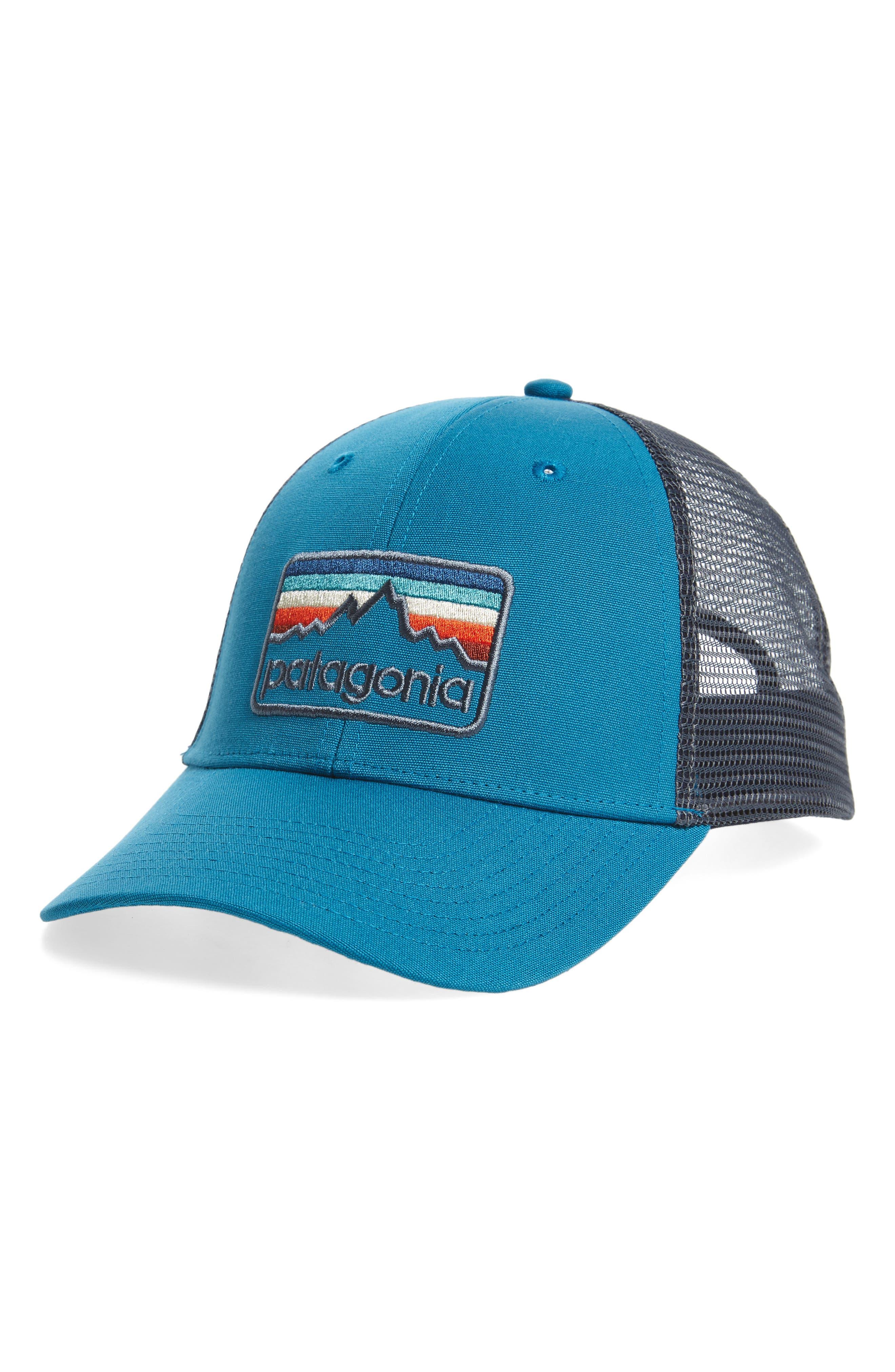 Logo Badge Trucker Hat,                             Main thumbnail 5, color,