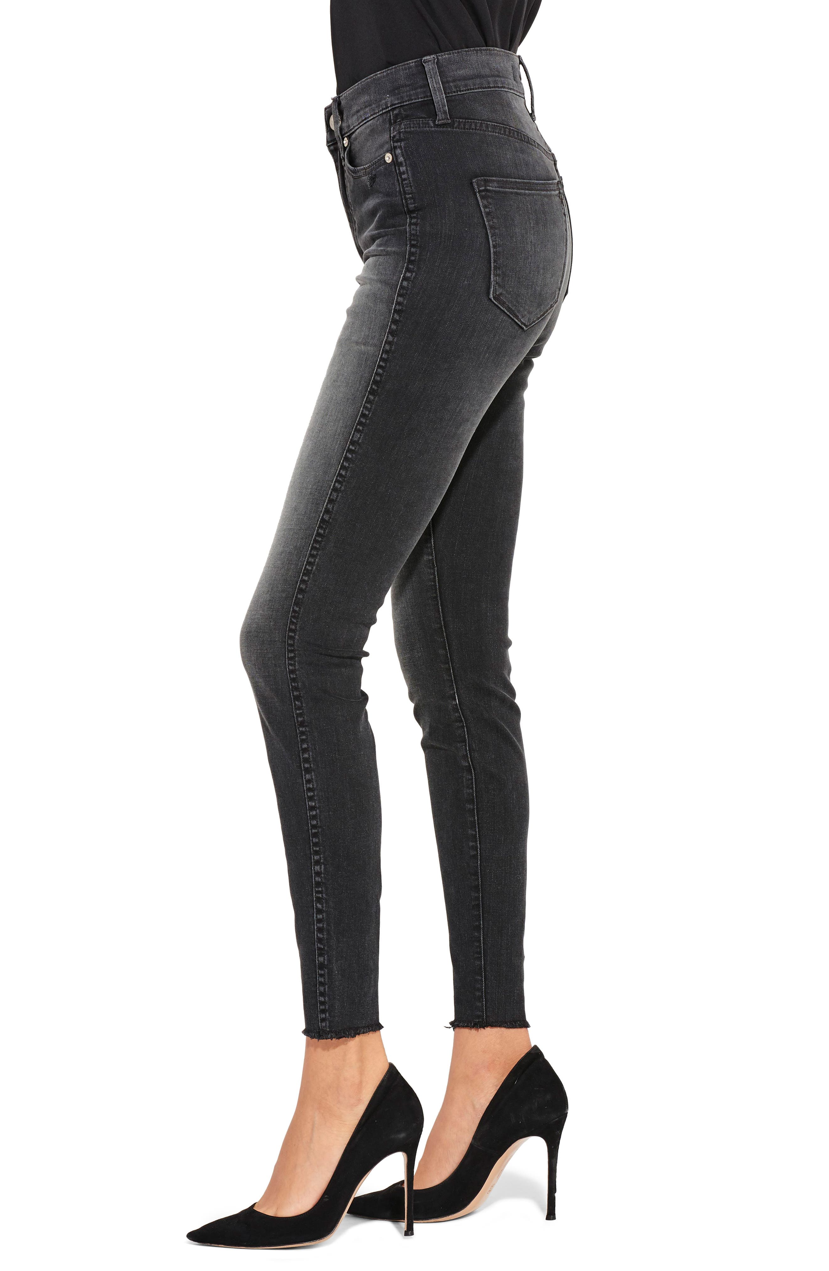 The Riser Skinny Jeans,                             Alternate thumbnail 3, color,                             400