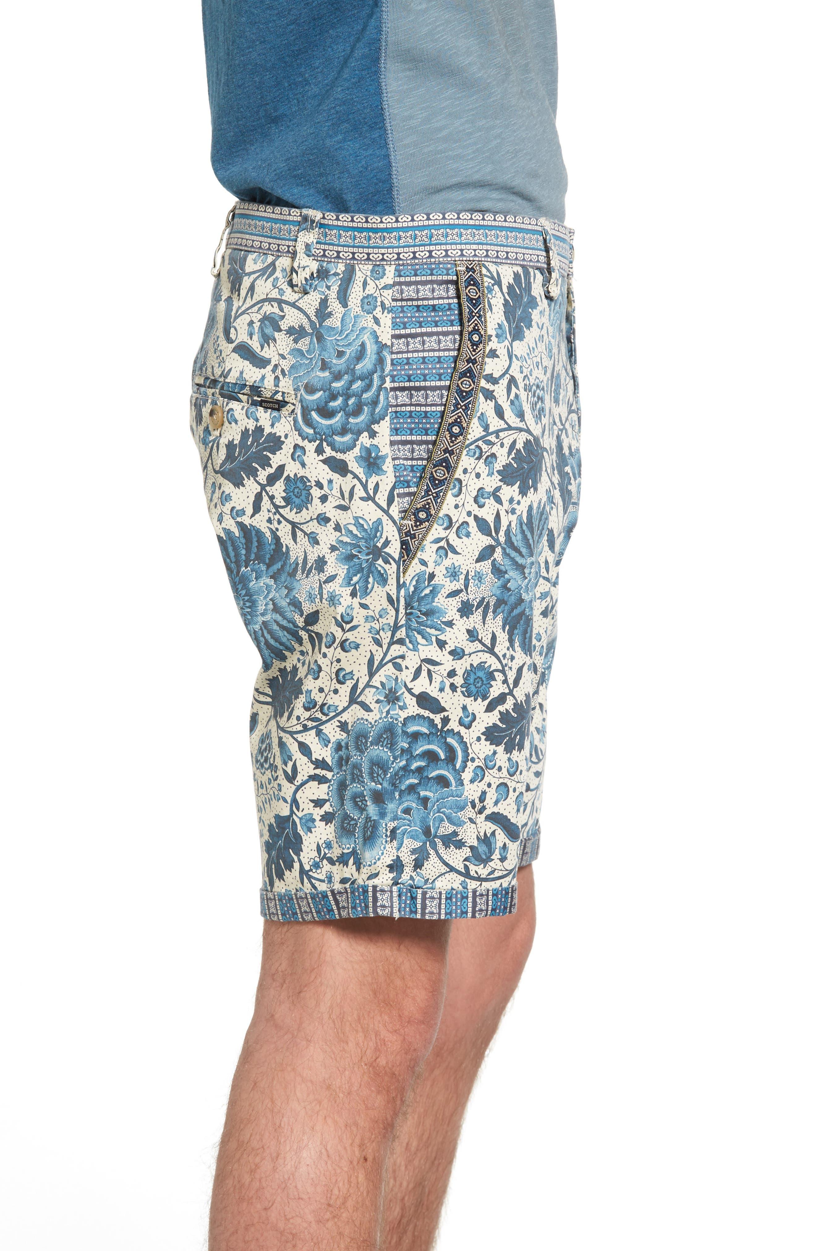Print Shorts,                             Alternate thumbnail 3, color,                             400