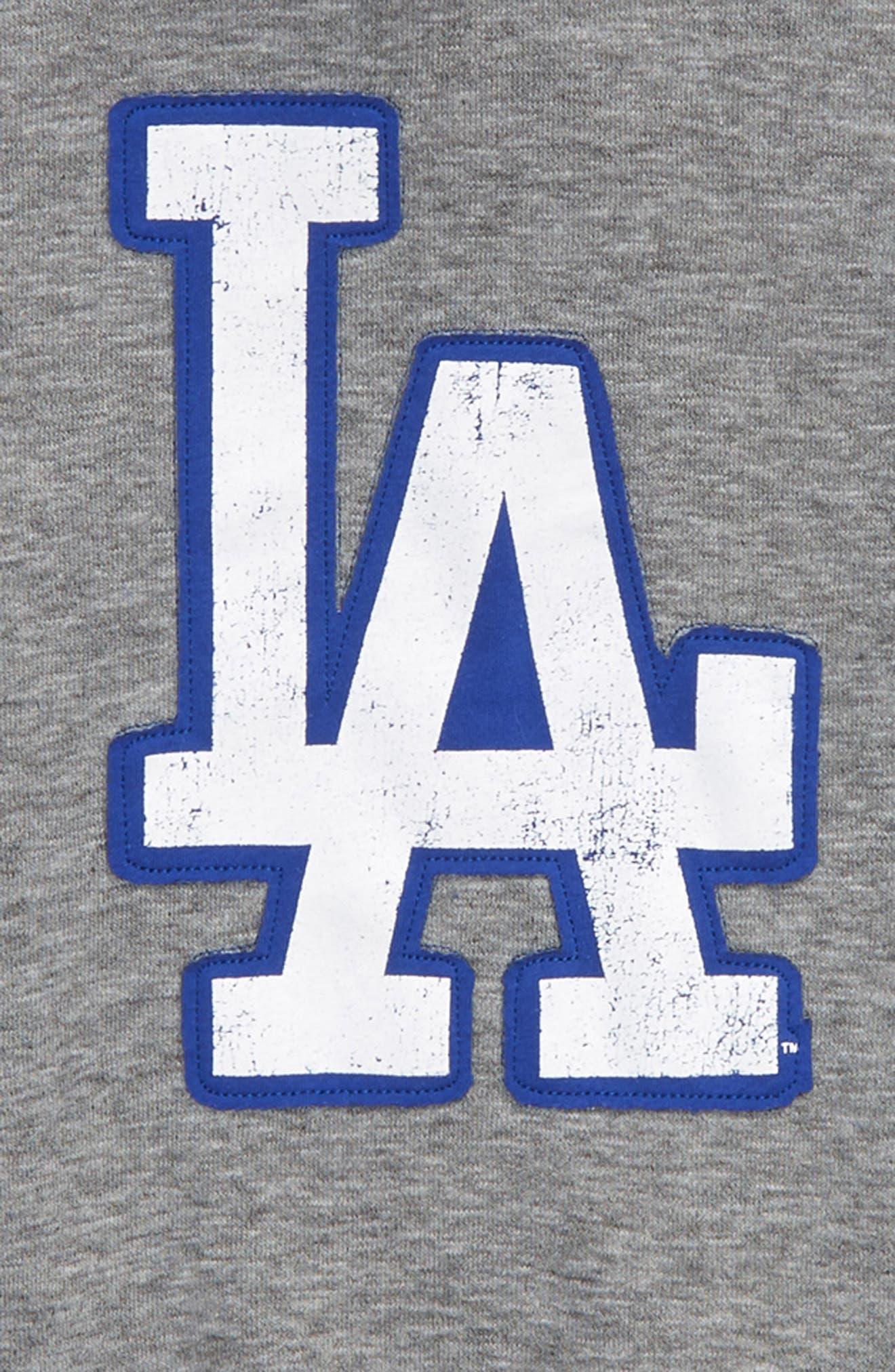 New Beginnings - Los Angeles Dodgers Pullover Hoodie,                             Alternate thumbnail 2, color,                             020