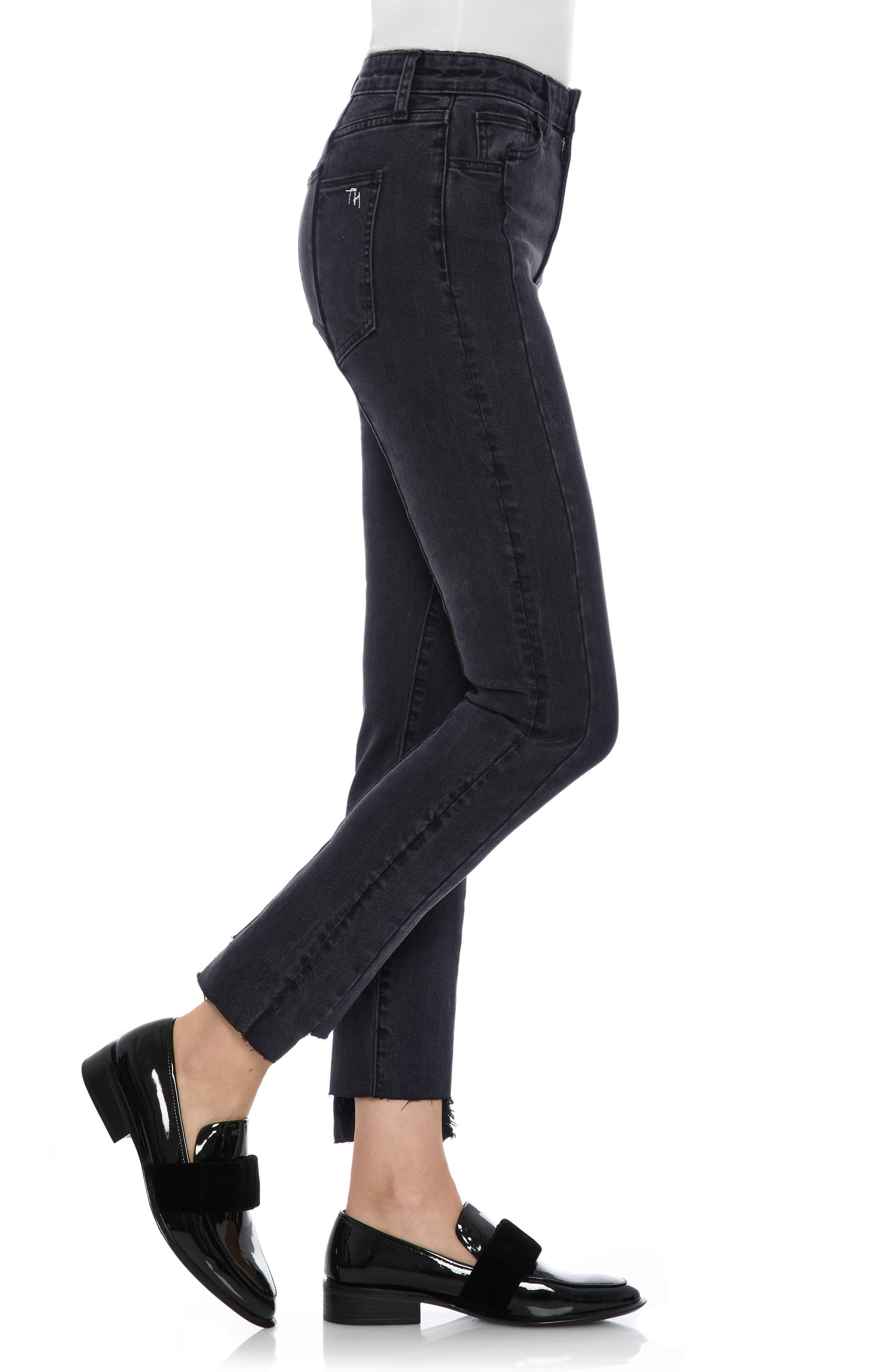 Taylor Hill x Joe's Kass Raw Step Hem Ankle Skinny Jeans,                             Alternate thumbnail 3, color,                             011