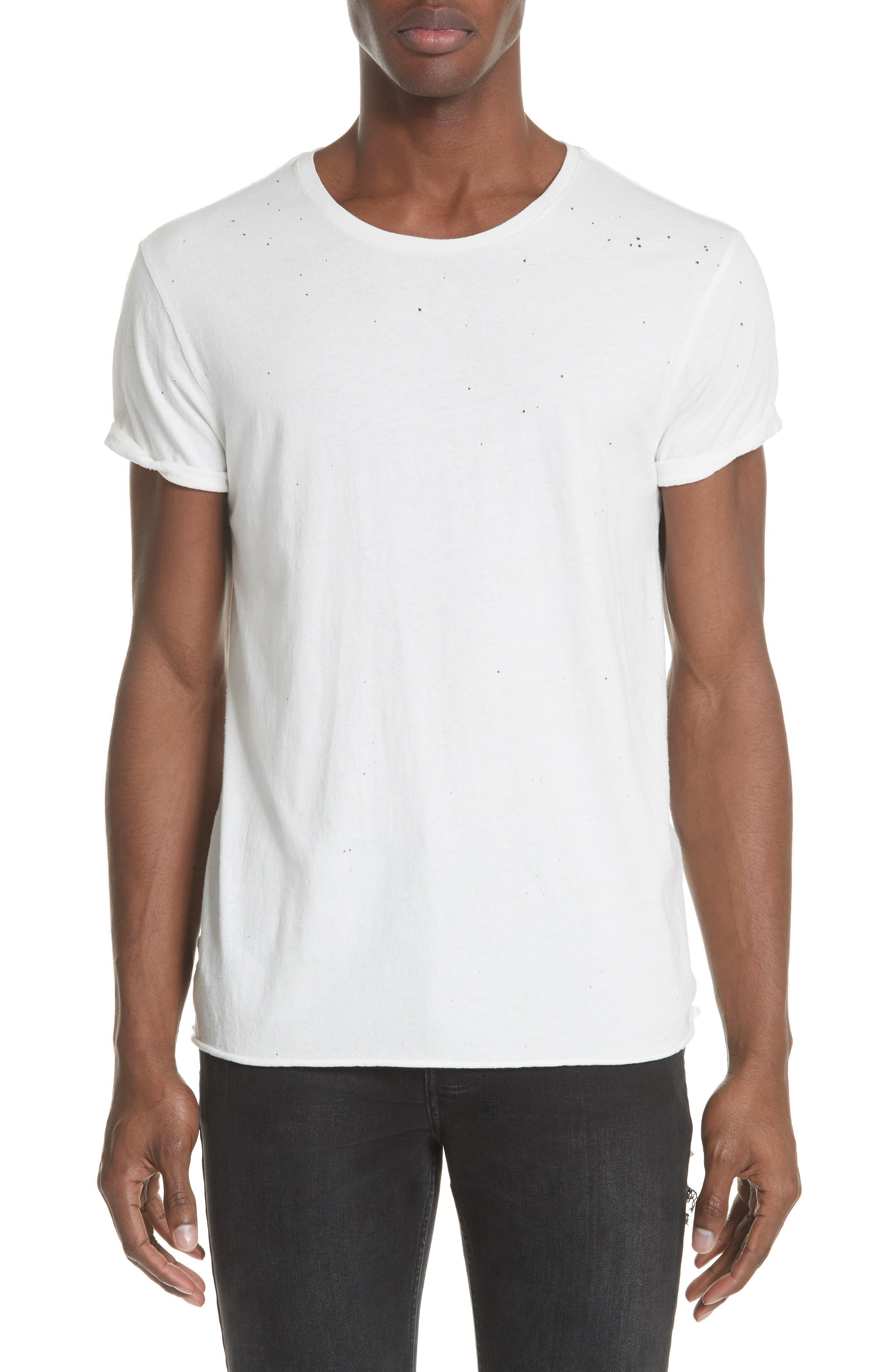 Kodeine Crewneck T-Shirt,                         Main,                         color, WHITE