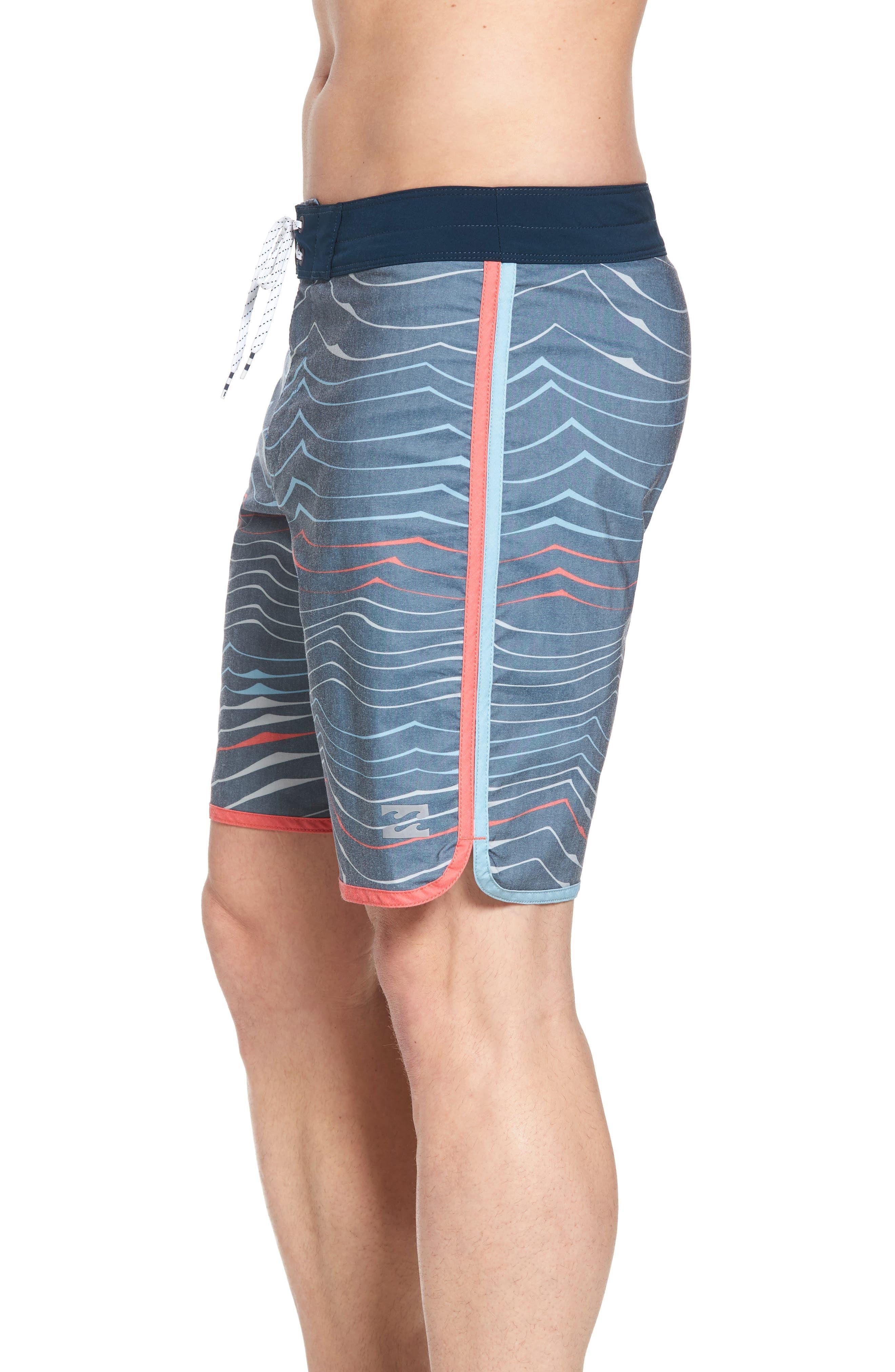 BILLABONG,                             73 X Lineup Board Shorts,                             Alternate thumbnail 4, color,                             415
