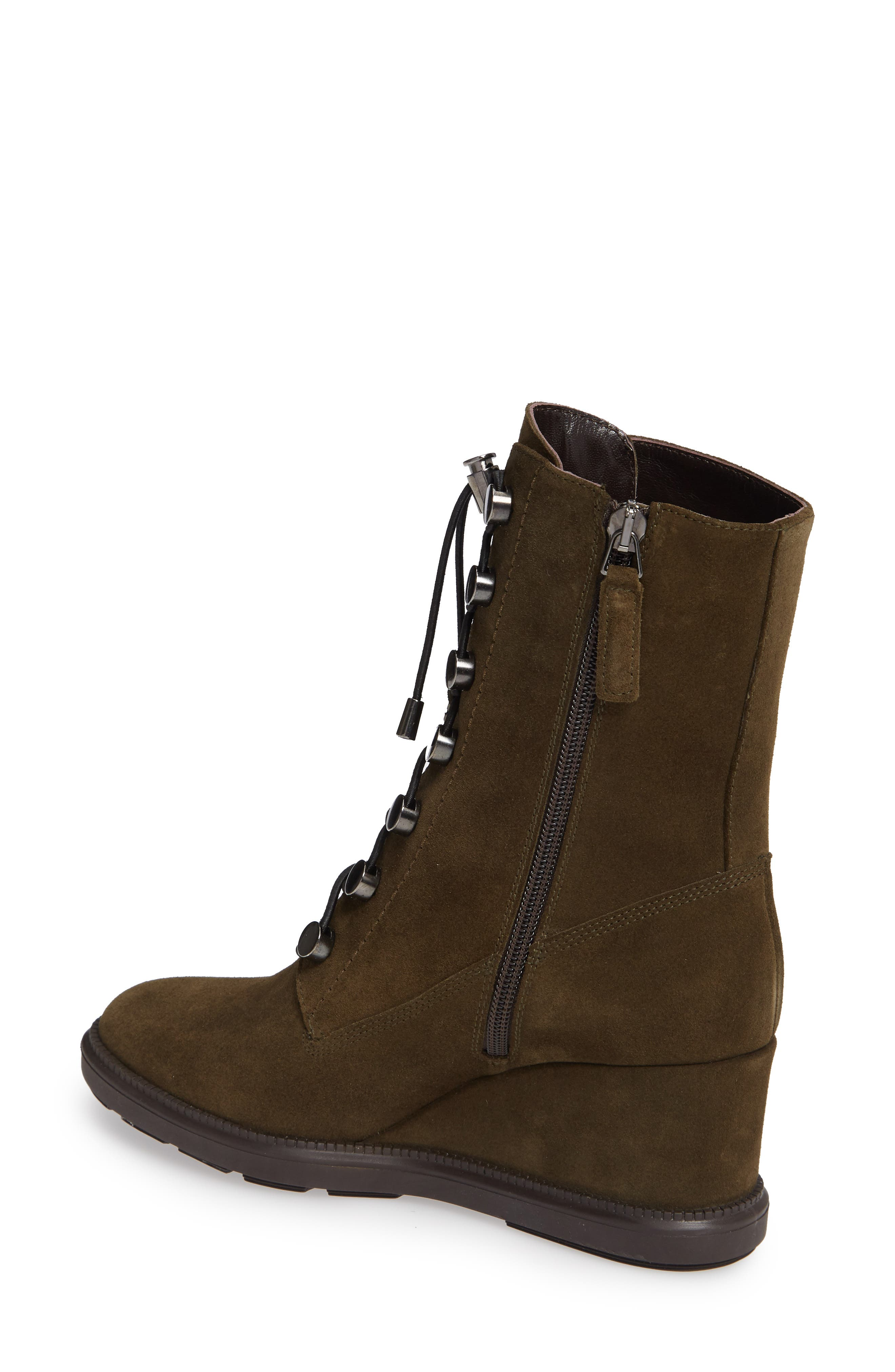 Campbell Wedge Boot,                             Alternate thumbnail 2, color,                             HERB SUEDE