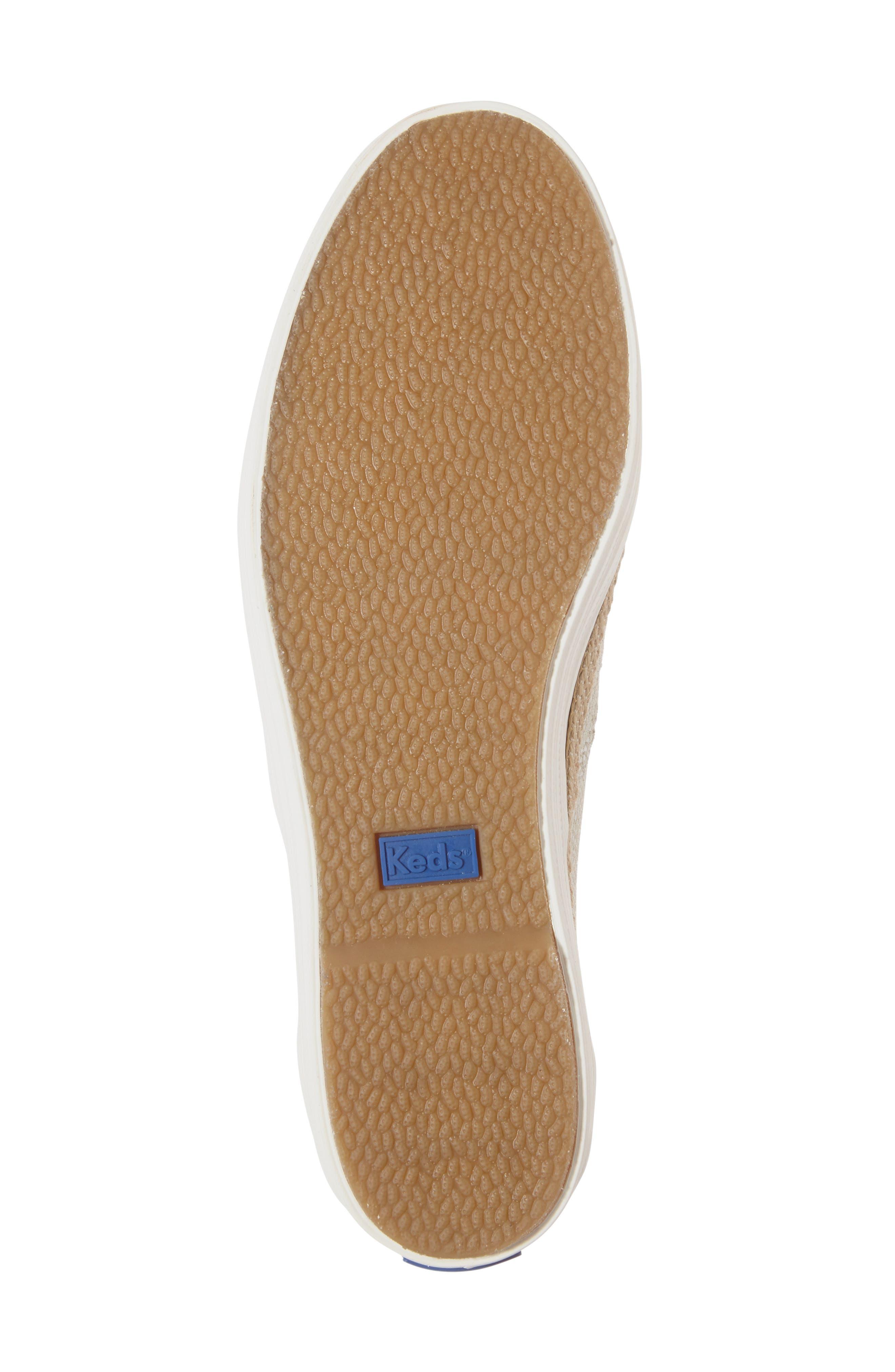 Triple Deck Platform Sneaker,                             Alternate thumbnail 6, color,                             270