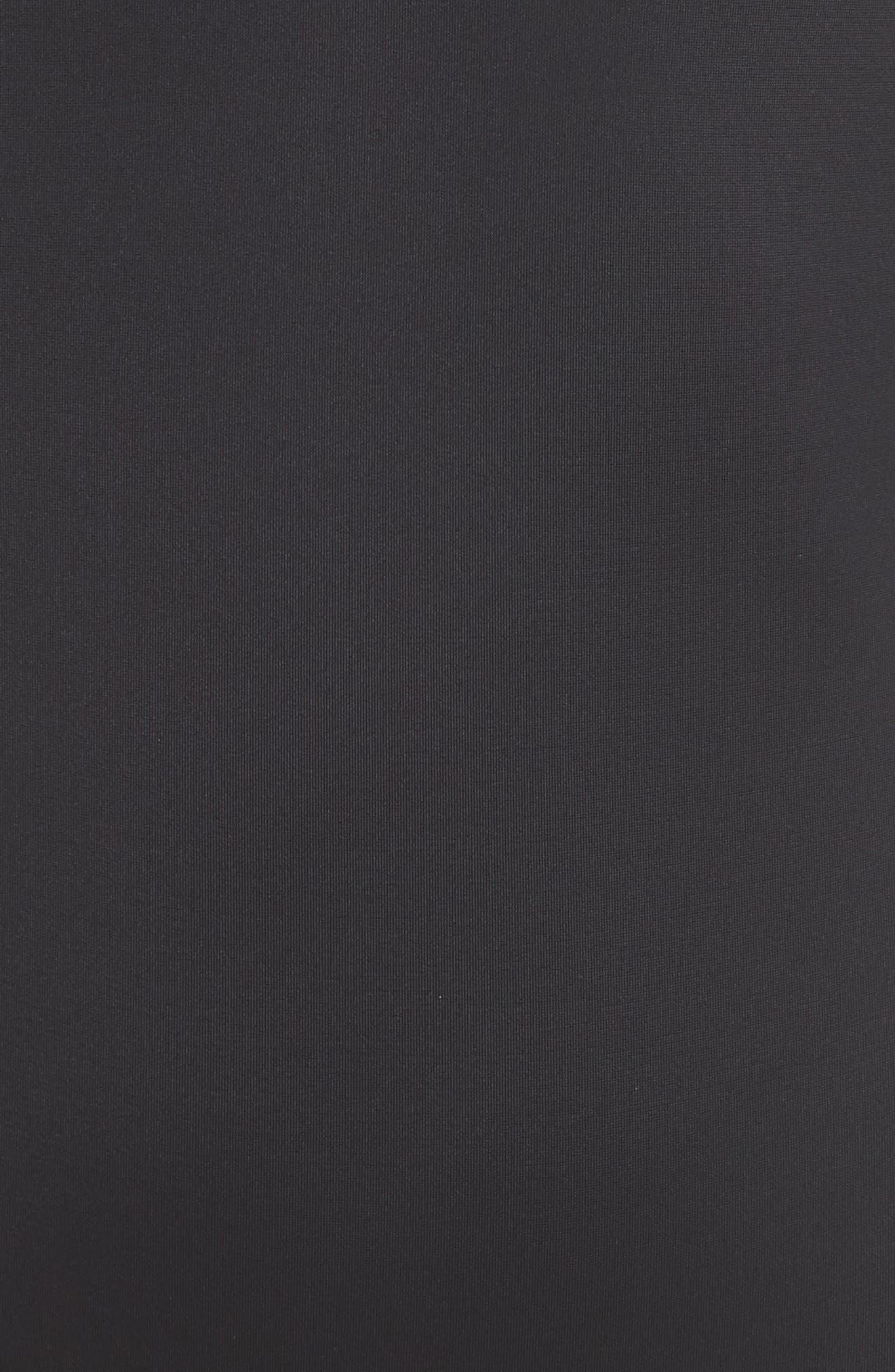 Zoe One-Piece Swimsuit,                             Alternate thumbnail 5, color,                             BLACK