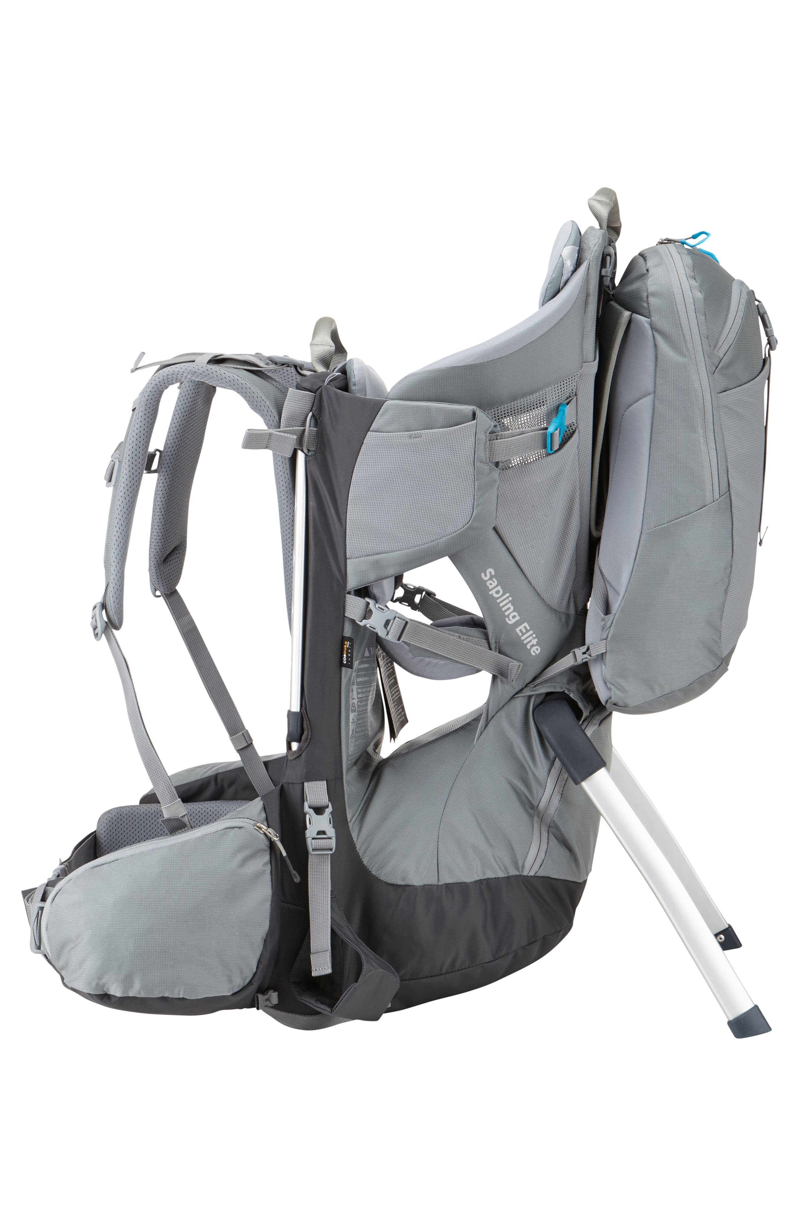 Sapling Elite Child Carrier,                             Alternate thumbnail 3, color,                             DARK SHADOW/ SLATE