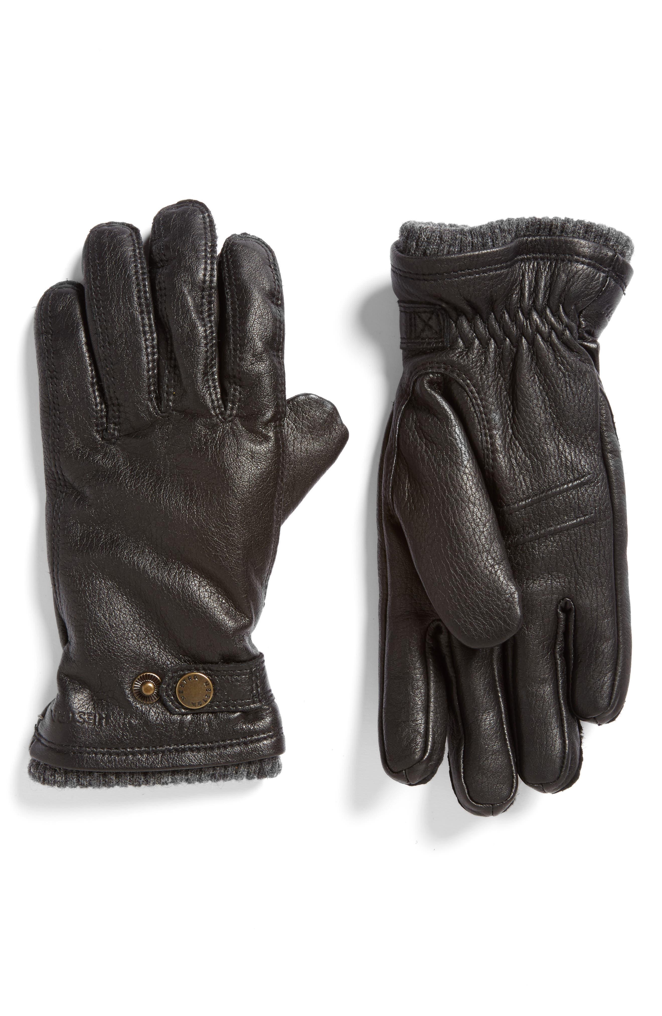 Utsjo Leather Gloves,                             Alternate thumbnail 2, color,                             001