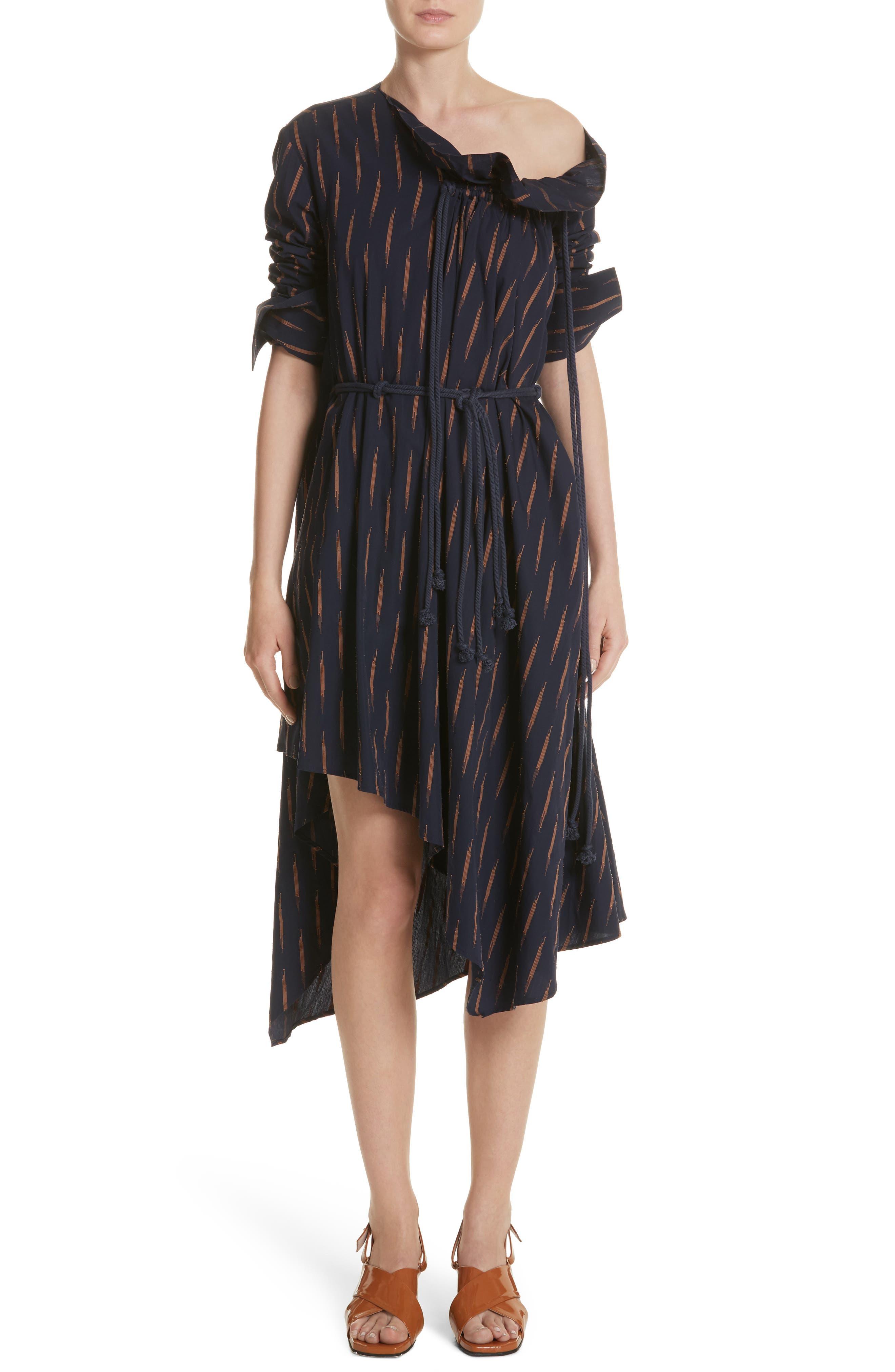 Gallery One-Shoulder Dress,                         Main,                         color, 400