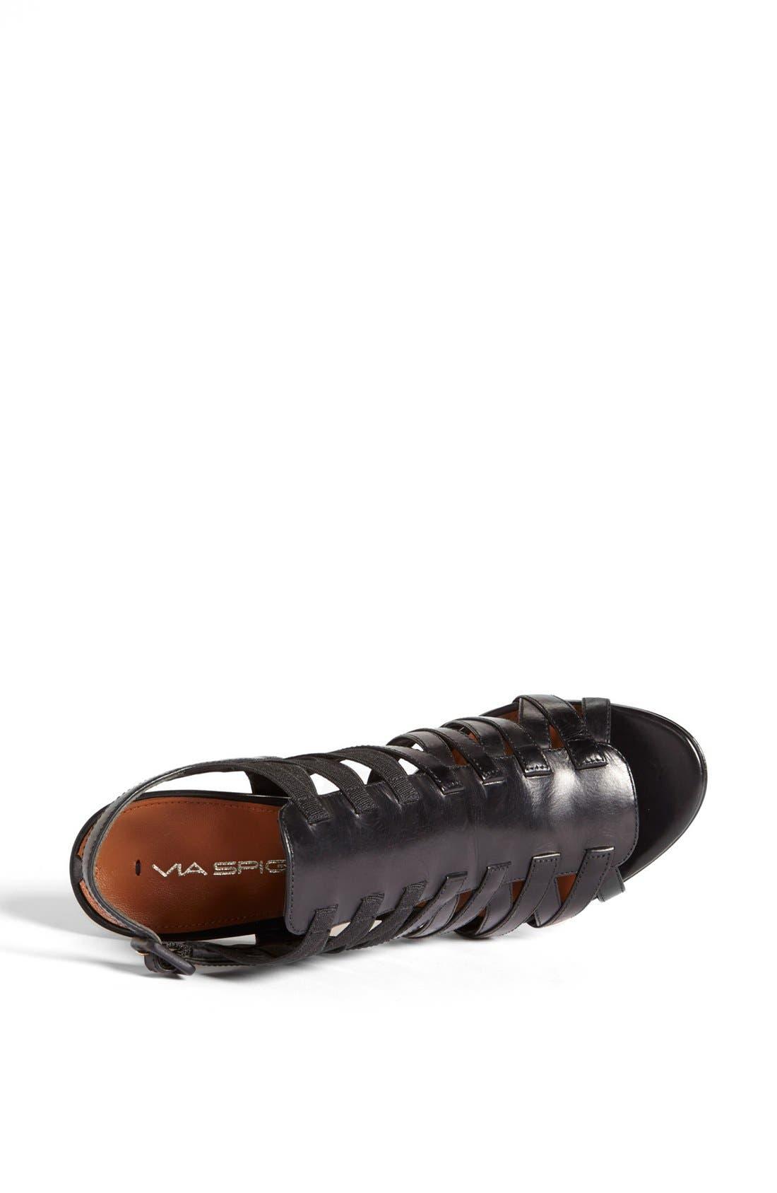 'Tafari' Sandal,                             Alternate thumbnail 4, color,                             001