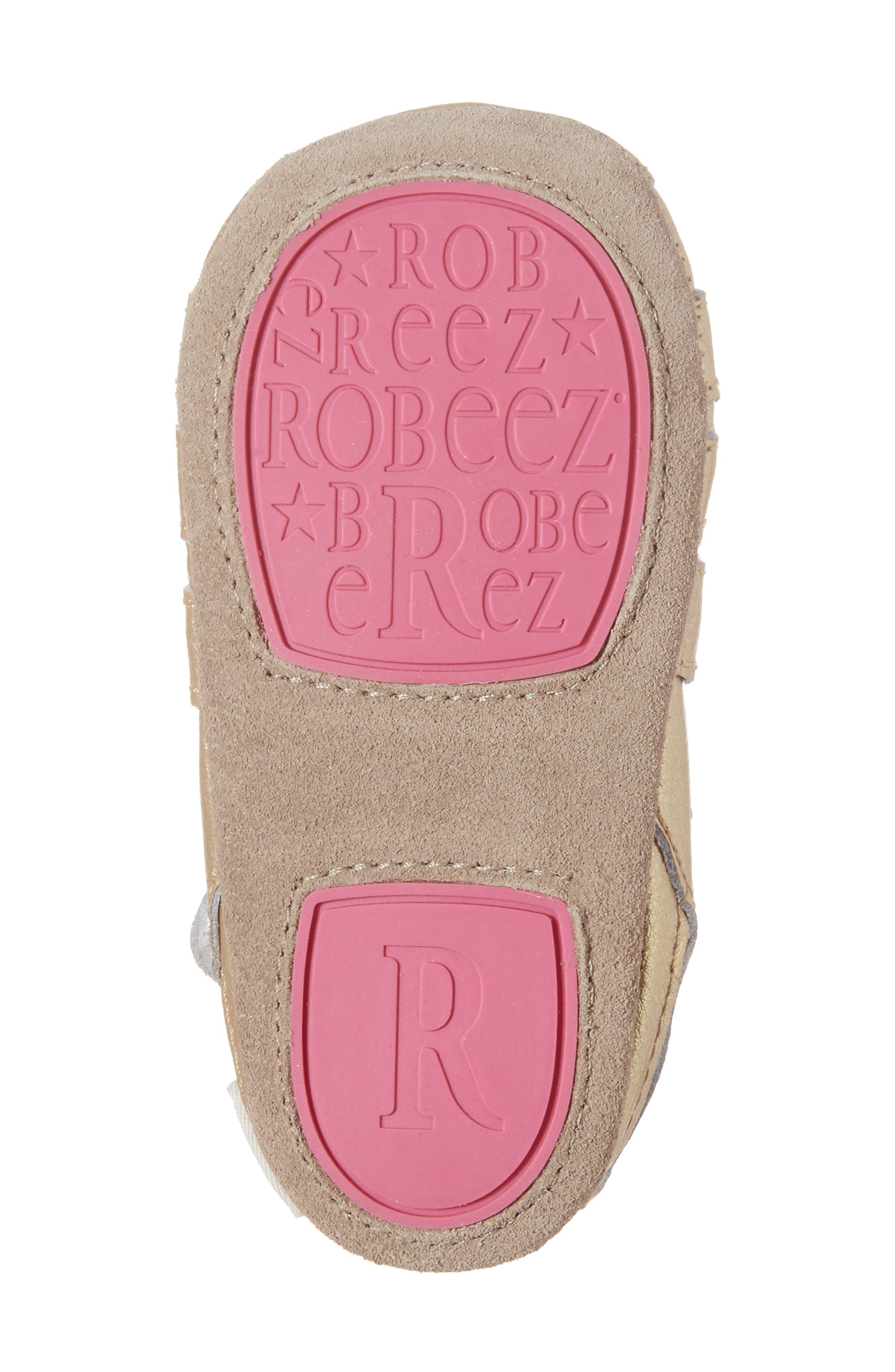 Paris Crib Shoe,                             Alternate thumbnail 6, color,                             GOLD