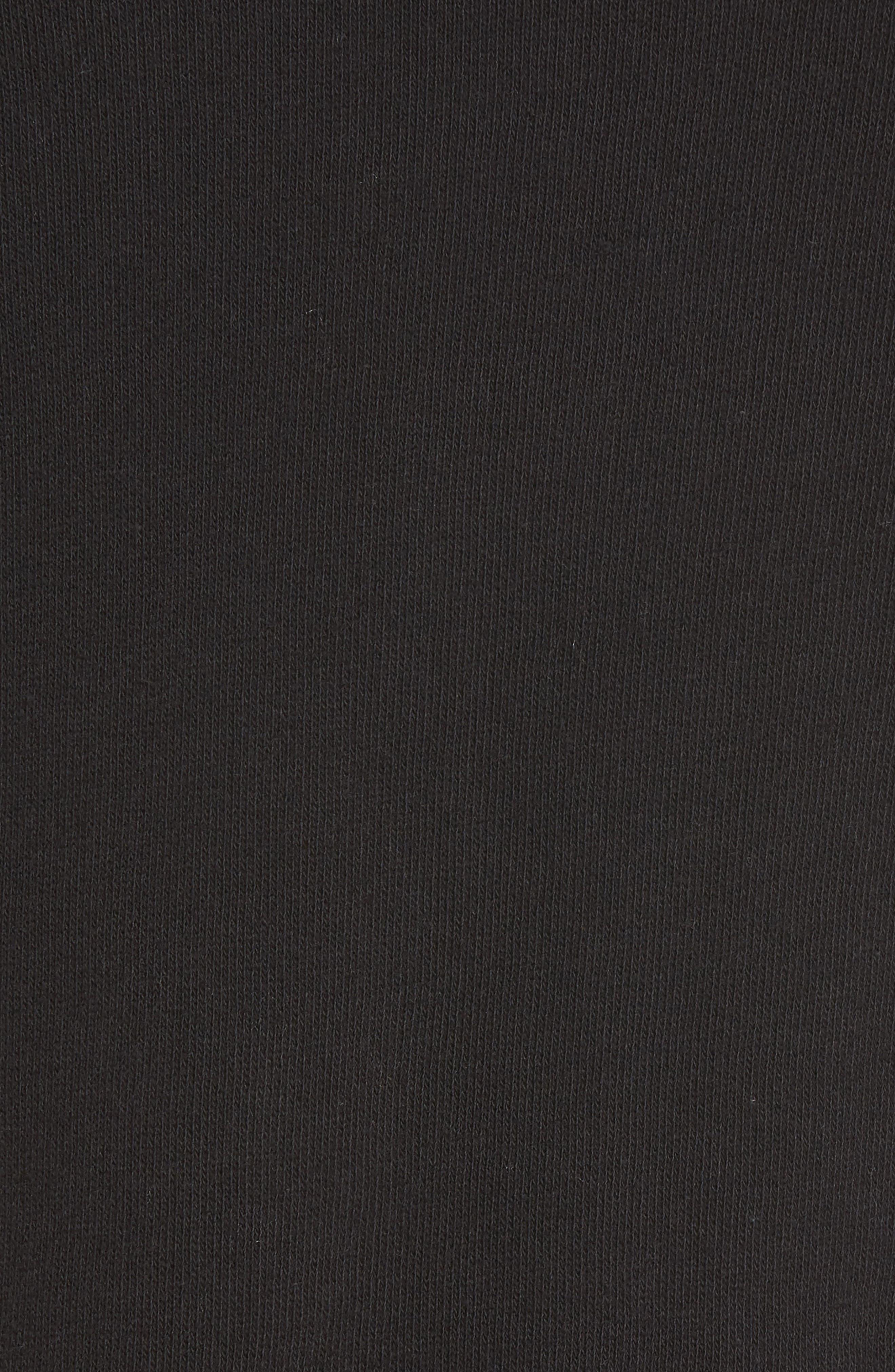 West Fourth Ruffle Sweatshirt,                             Alternate thumbnail 5, color,                             001