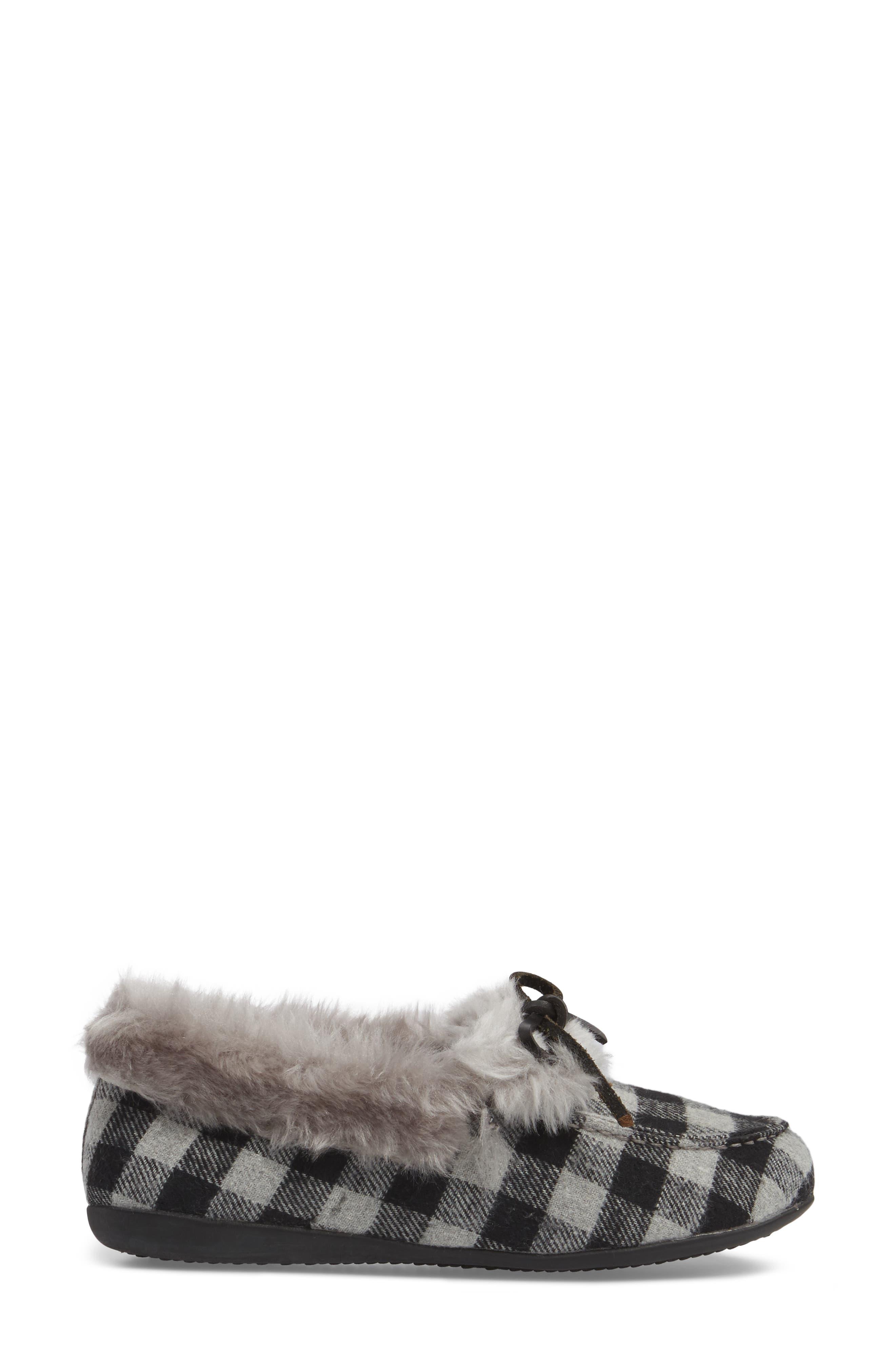 Juniper Faux Fur Slipper,                             Alternate thumbnail 12, color,