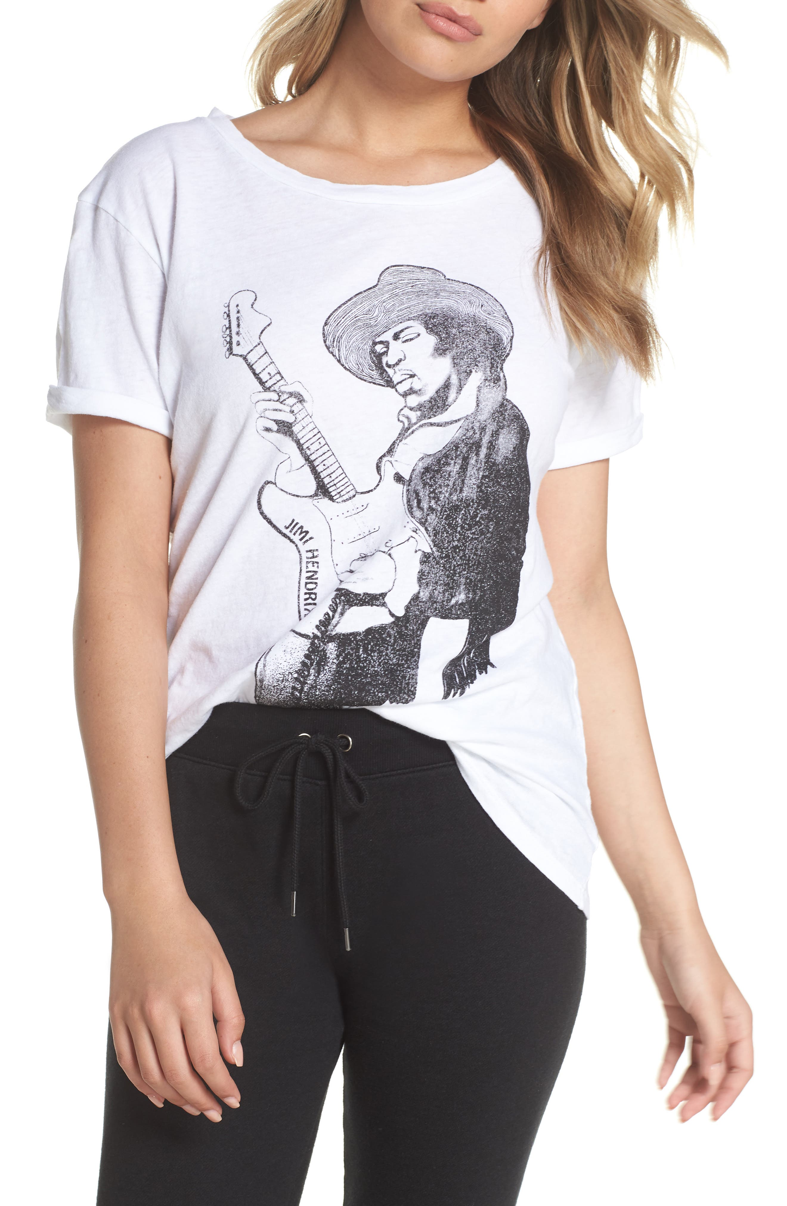 Jimi Hendrix Tee,                         Main,                         color, 108