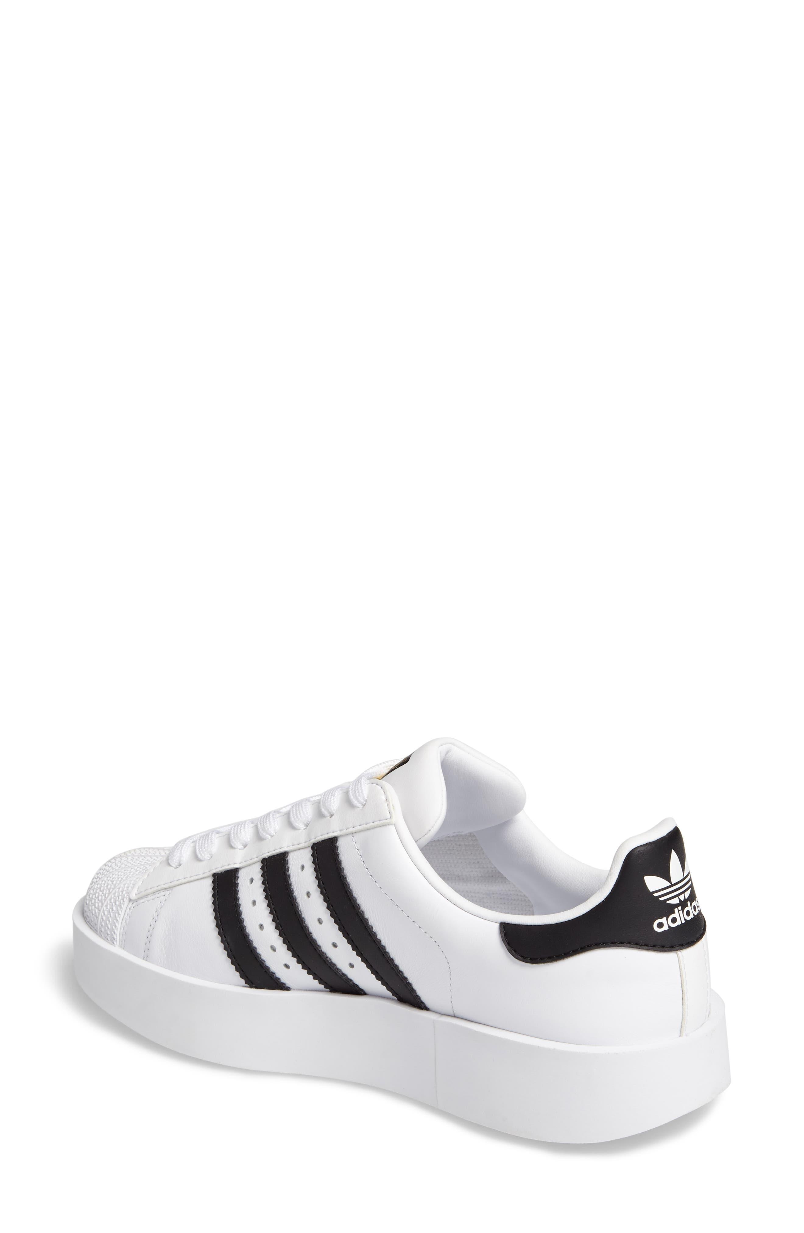 Superstar Bold Platform Sneaker,                             Alternate thumbnail 2, color,                             100