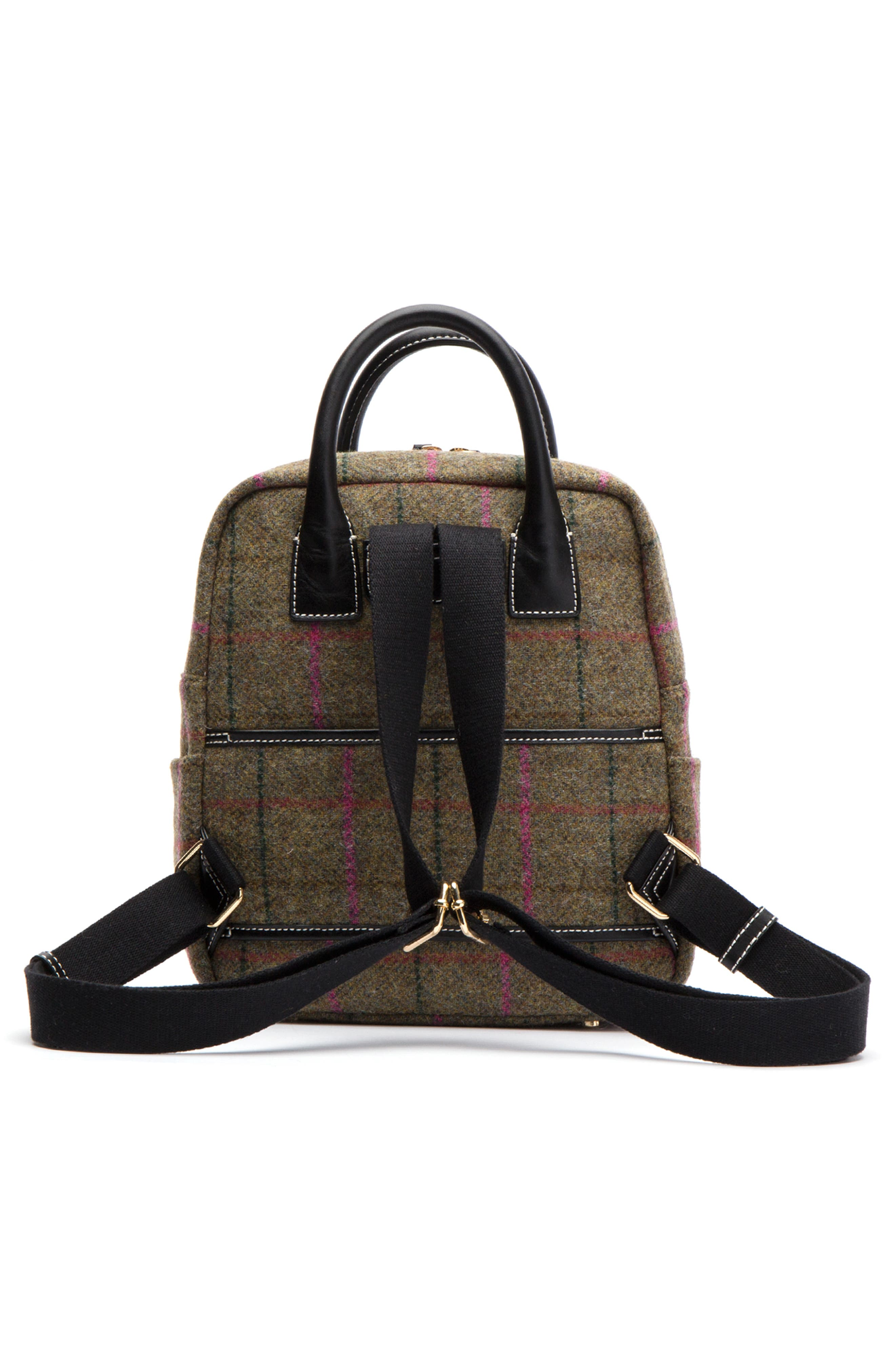 Plaid Wool Backpack,                             Alternate thumbnail 2, color,                             EQUESTRIAN PLAID