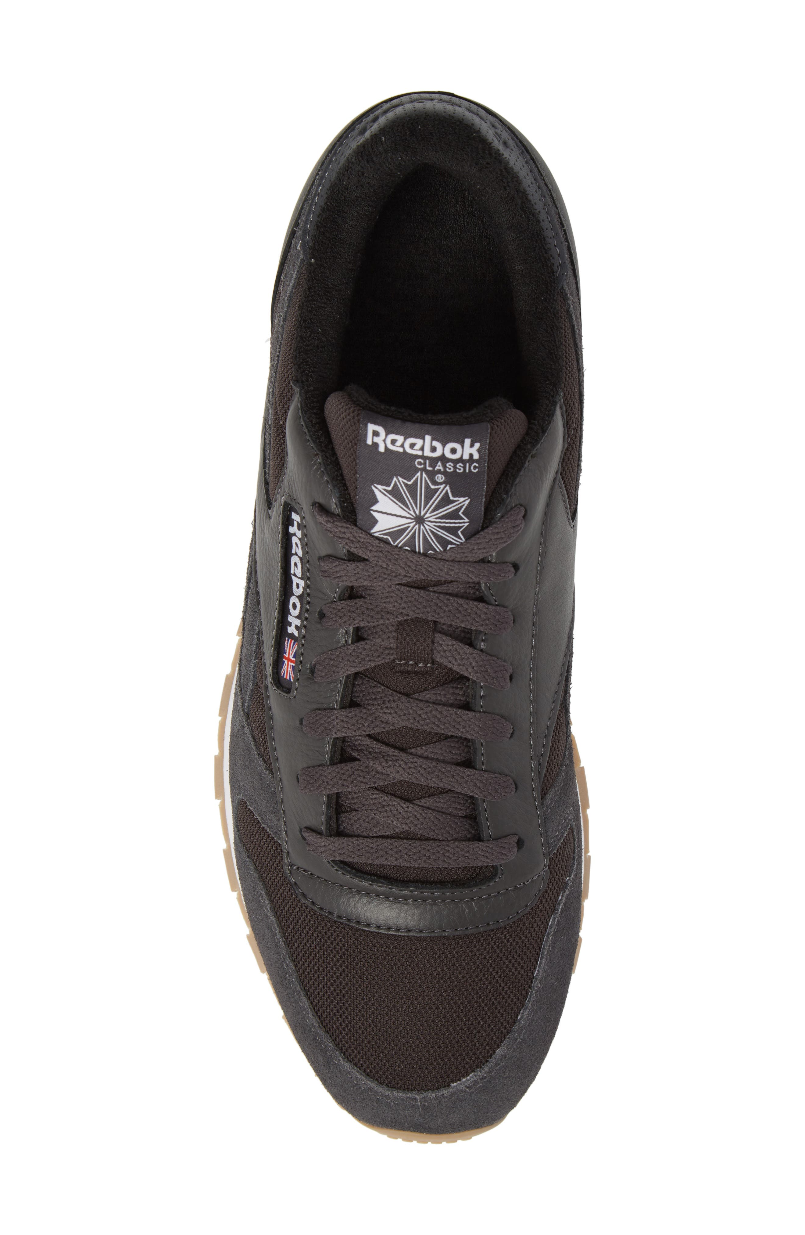 ESTL Classic Leather Sneaker,                             Alternate thumbnail 5, color,                             001