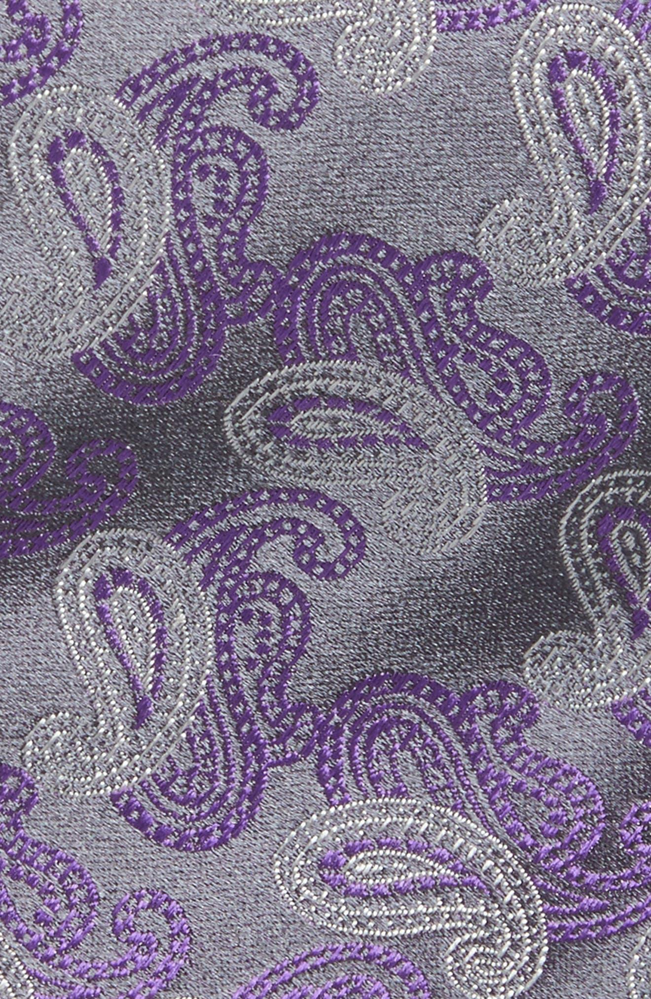 Paisley Silk Tie,                             Alternate thumbnail 9, color,
