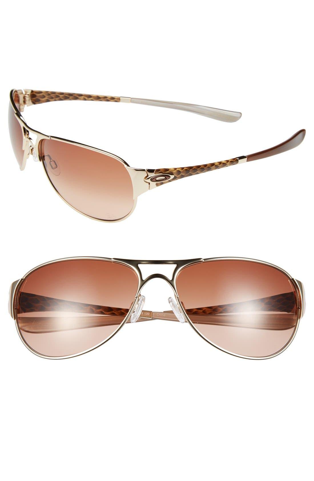'Gretchen Bleiler Signature Series - Restless' 60mm Sunglasses, Main, color, 710
