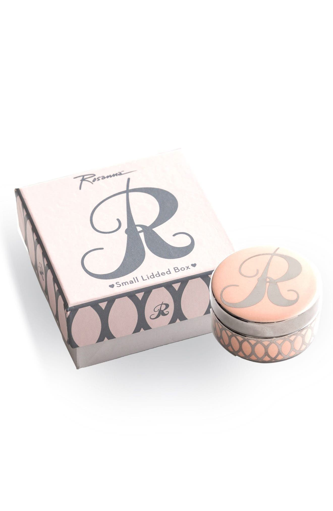 Mini Monogram Porcelain Box,                             Main thumbnail 13, color,