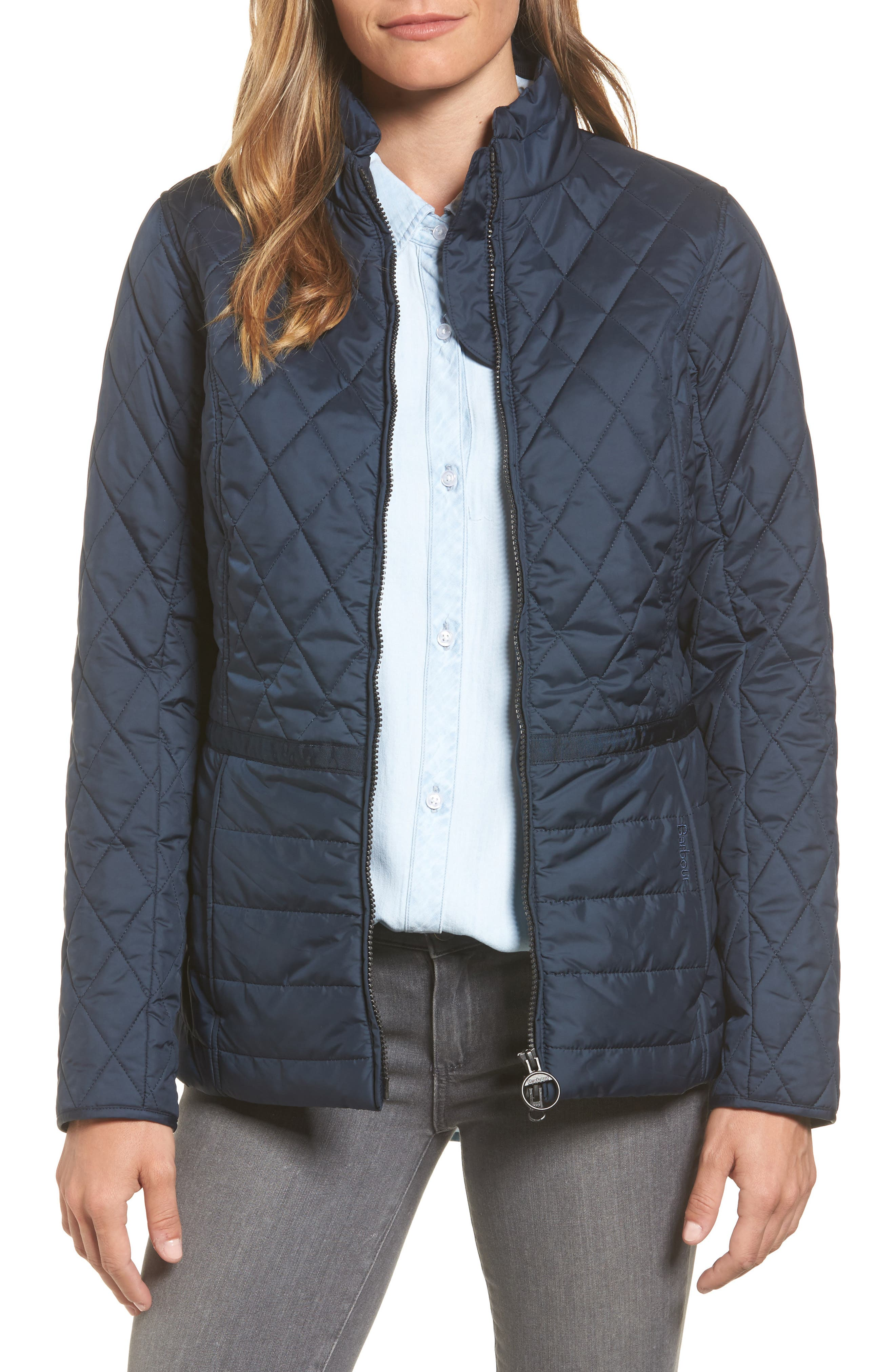 Water Resistant Quilted Jacket,                             Main thumbnail 2, color,