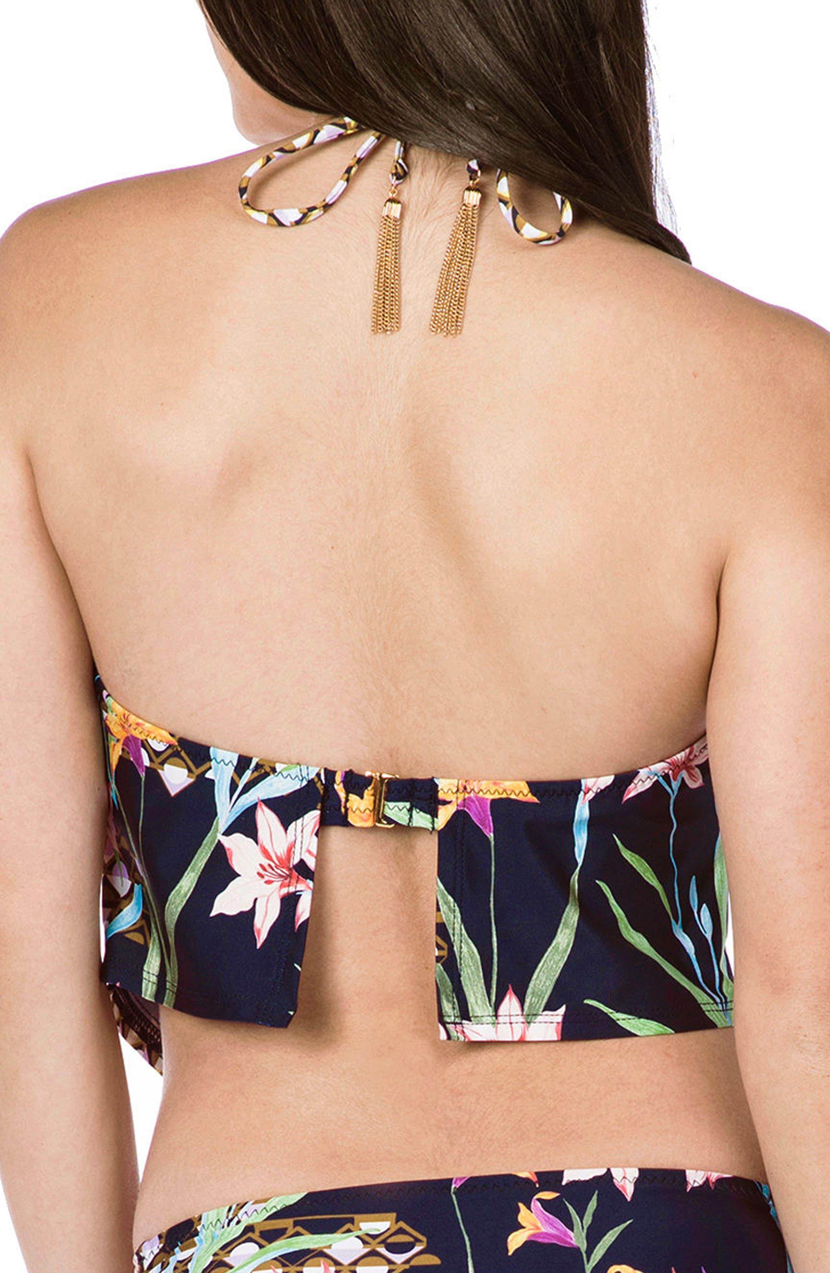 Fiji Floral Tankini Top,                             Alternate thumbnail 2, color,                             409