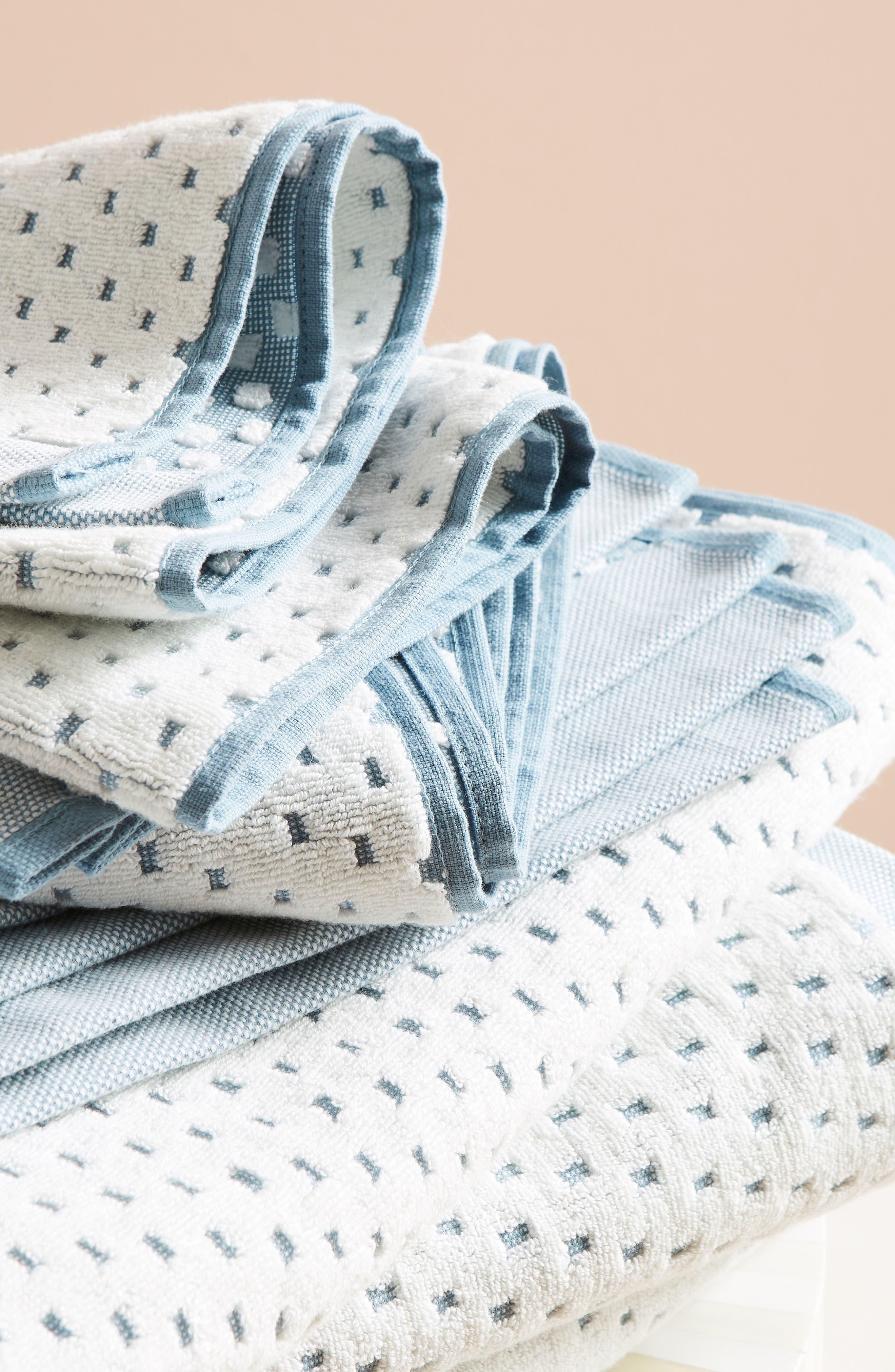 Dot Jacquard Hand Towel,                             Alternate thumbnail 8, color,