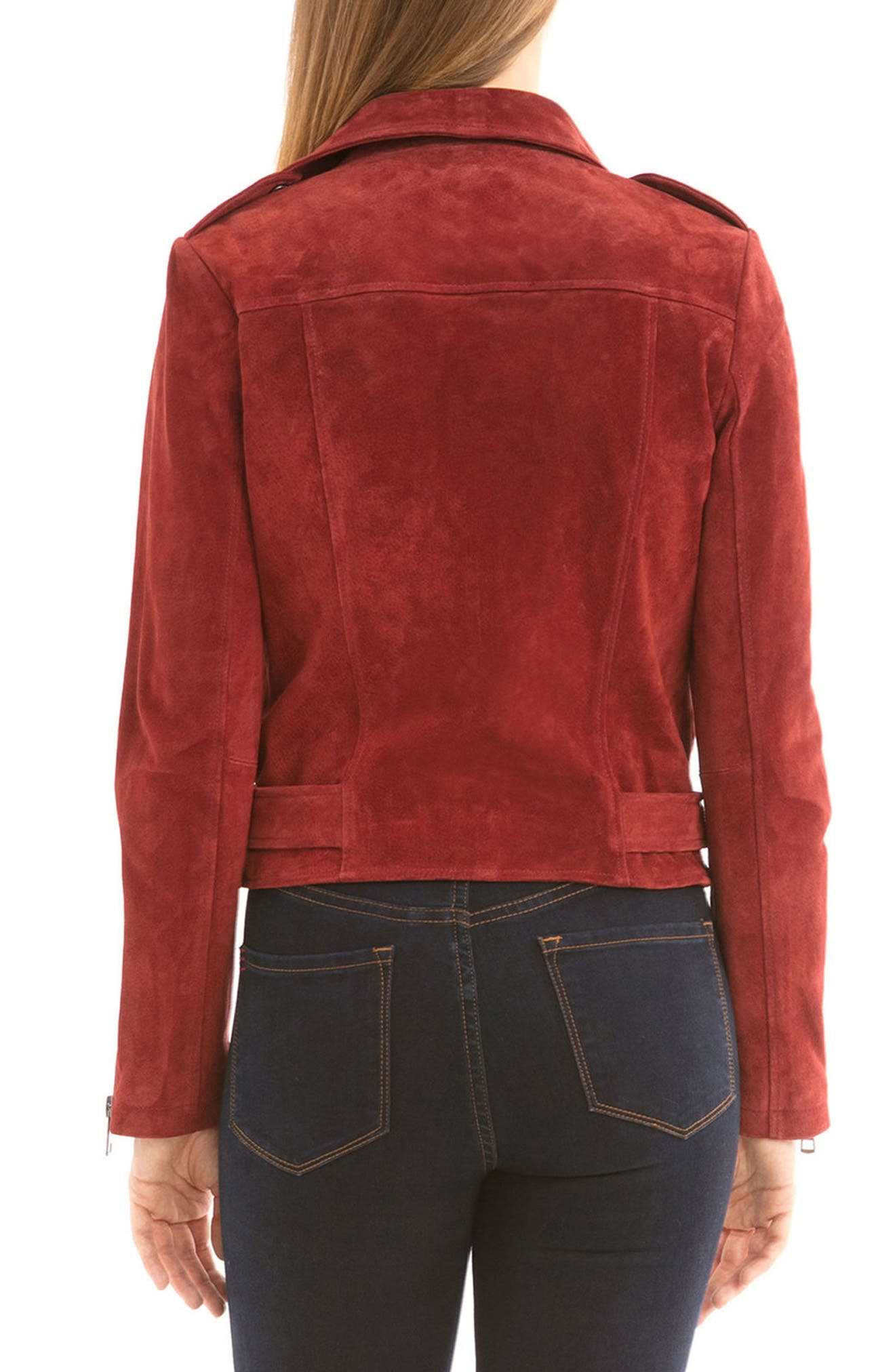 NYC  Suede Jacket,                             Alternate thumbnail 16, color,