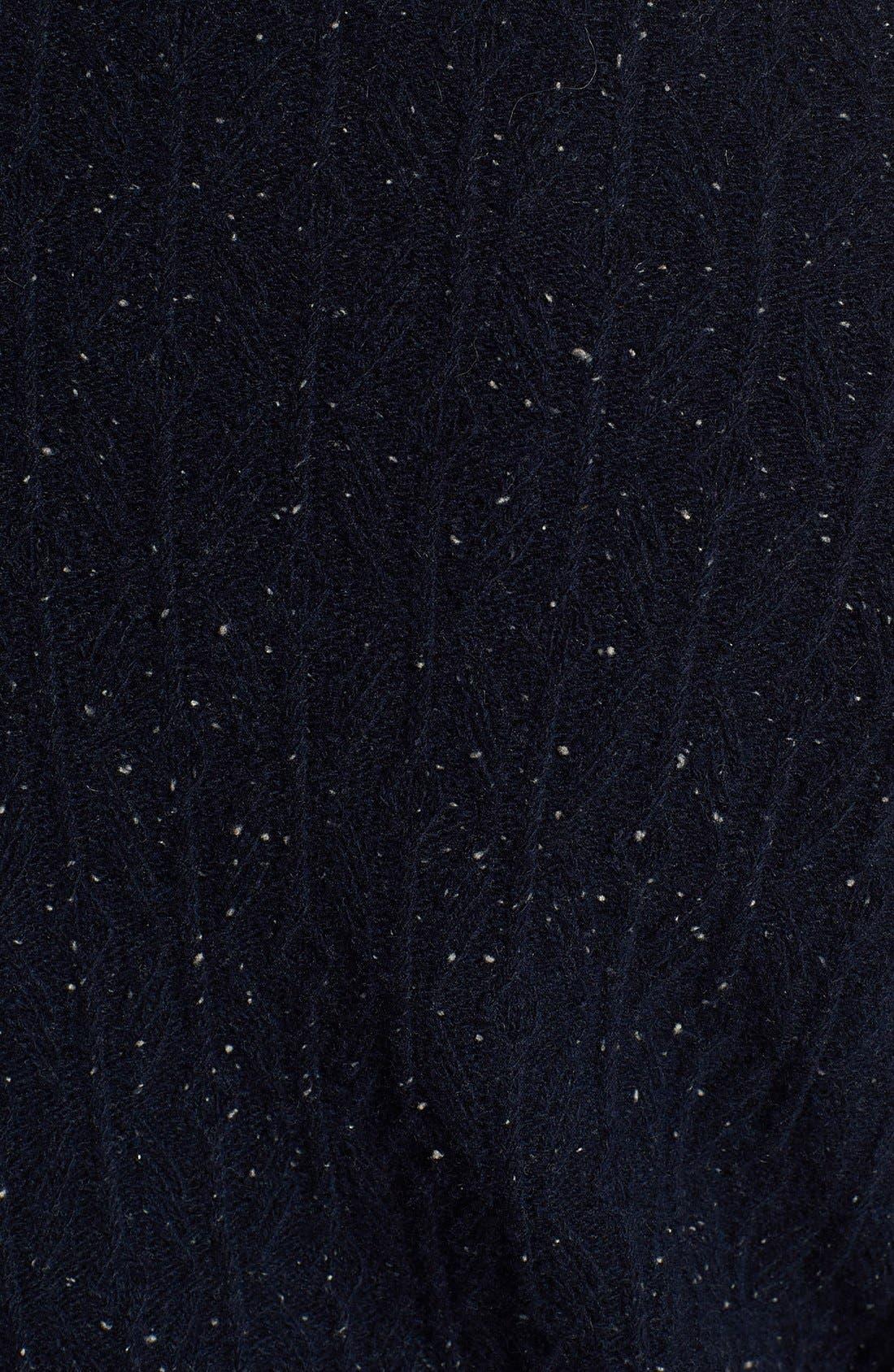 BILLY REID,                             Diamond Knit Wool V-Neck Sweater,                             Alternate thumbnail 2, color,                             410