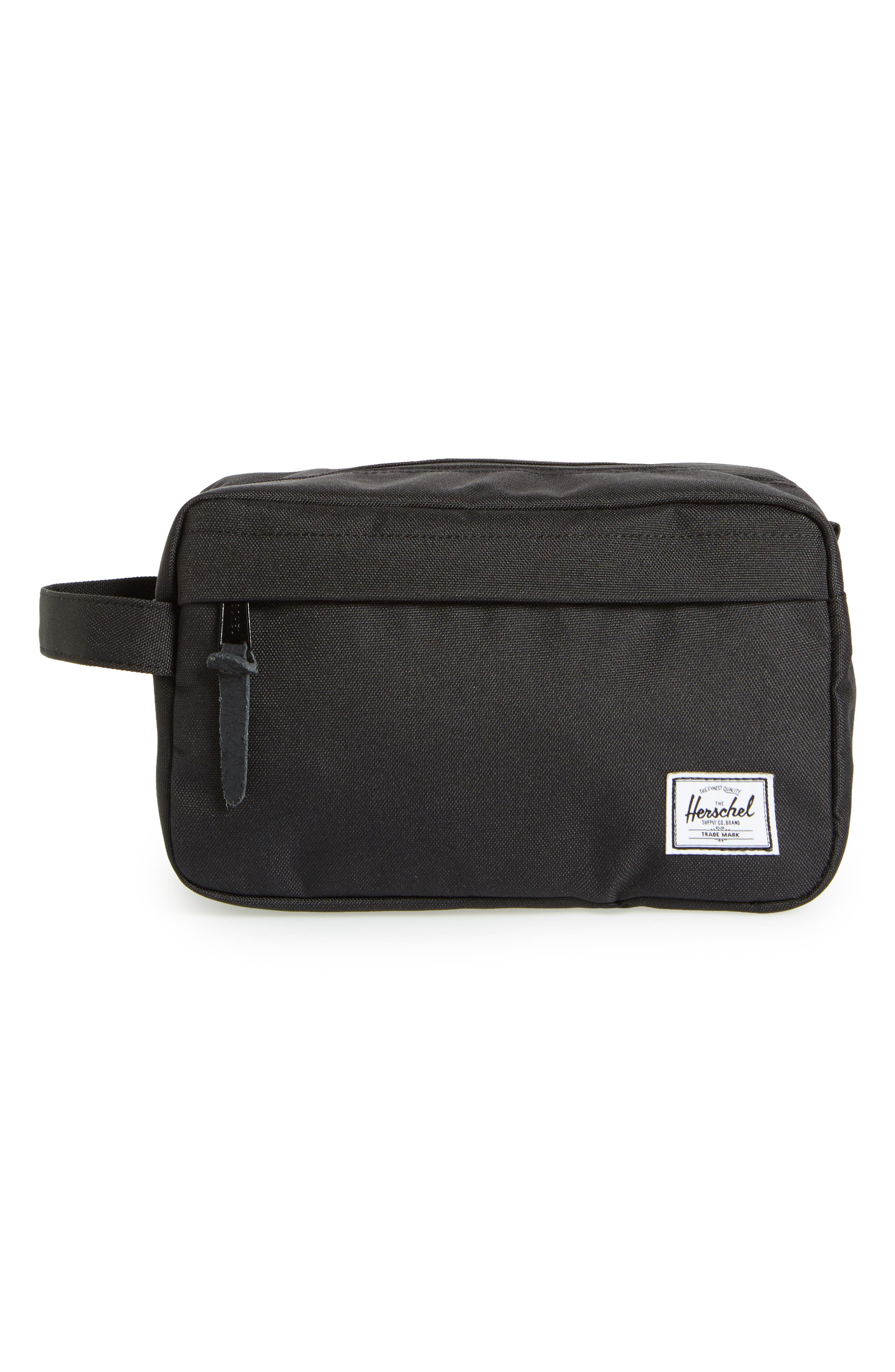 Travel Collection Chapter Toiletry Bag in Black