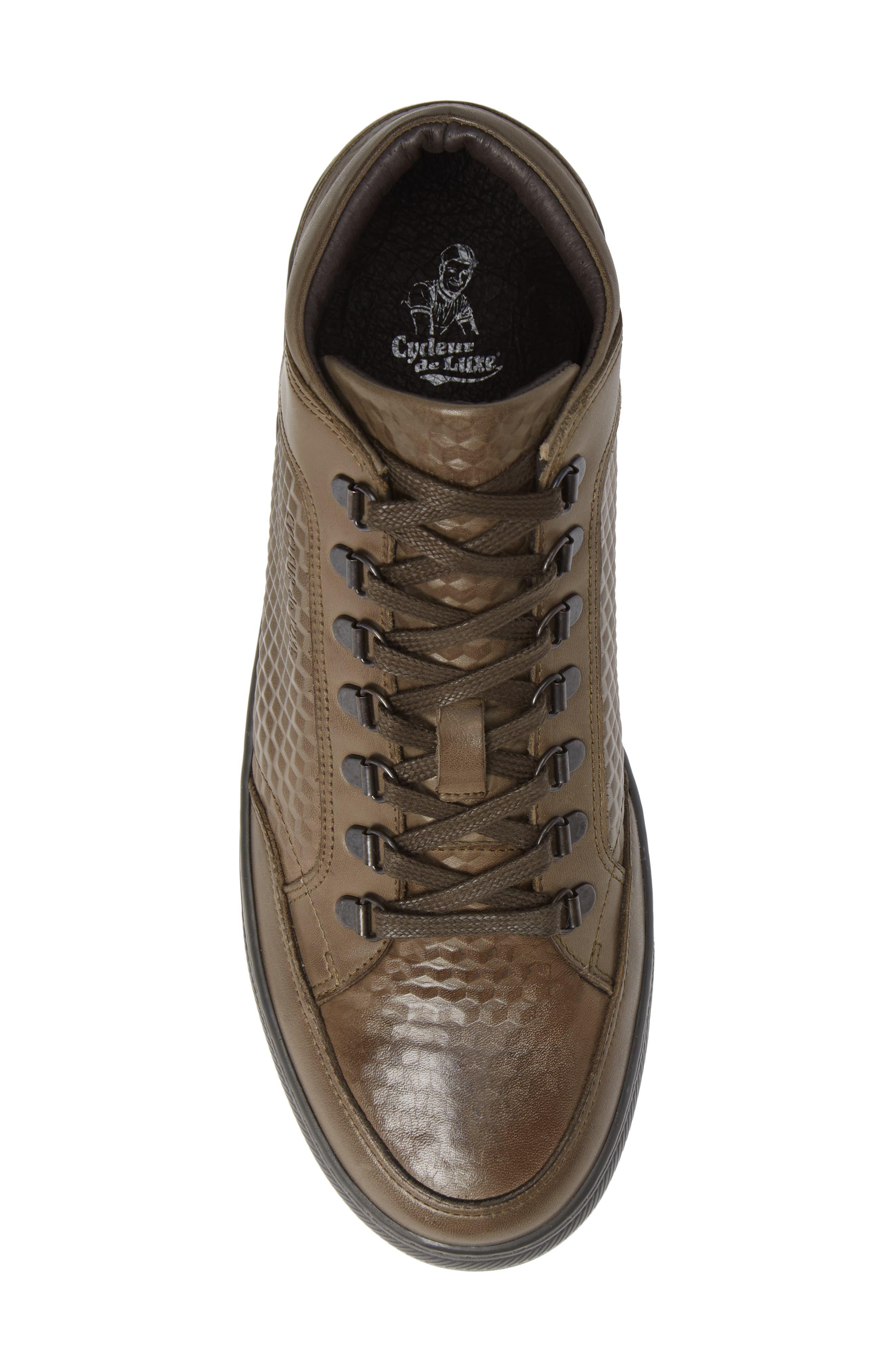 Houma Hooks Sneaker,                             Alternate thumbnail 5, color,                             MILITARY GREEN