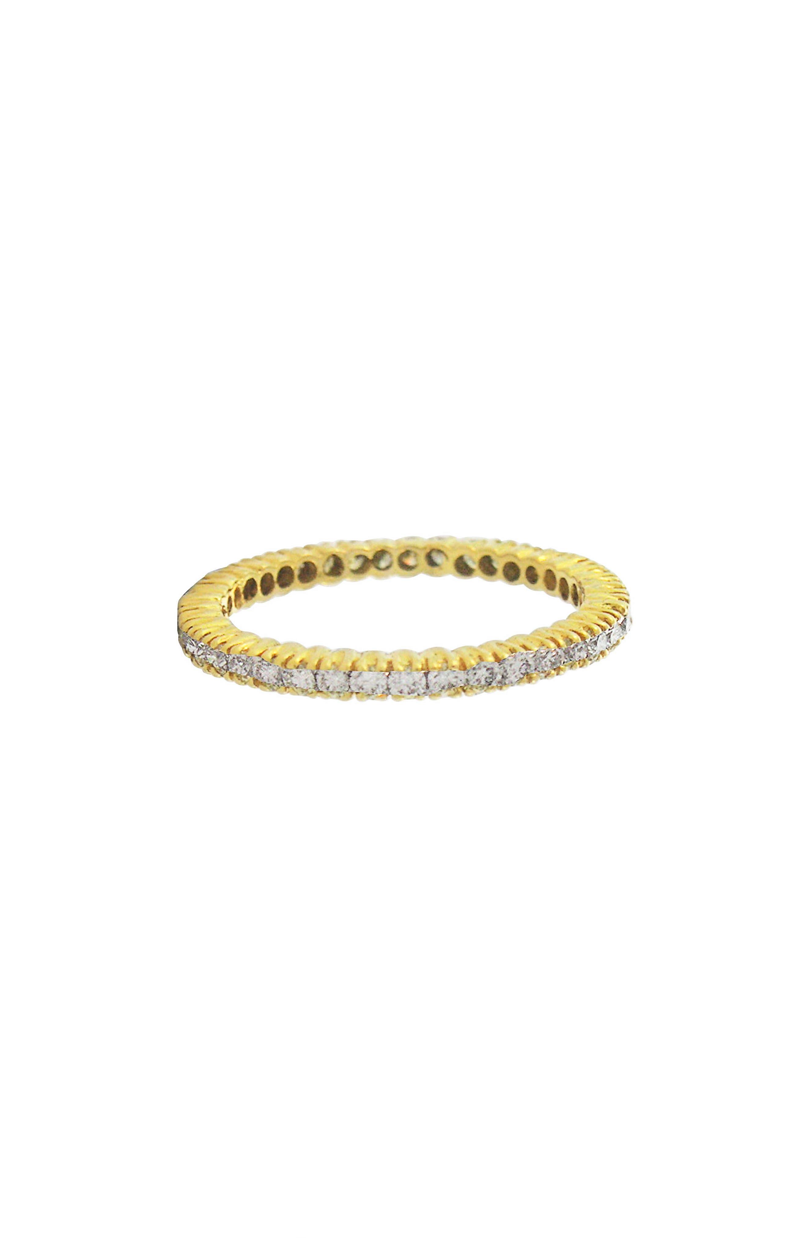 Prong Set Diamond Eternity Band,                             Main thumbnail 1, color,                             GOLD/ DIAMOND