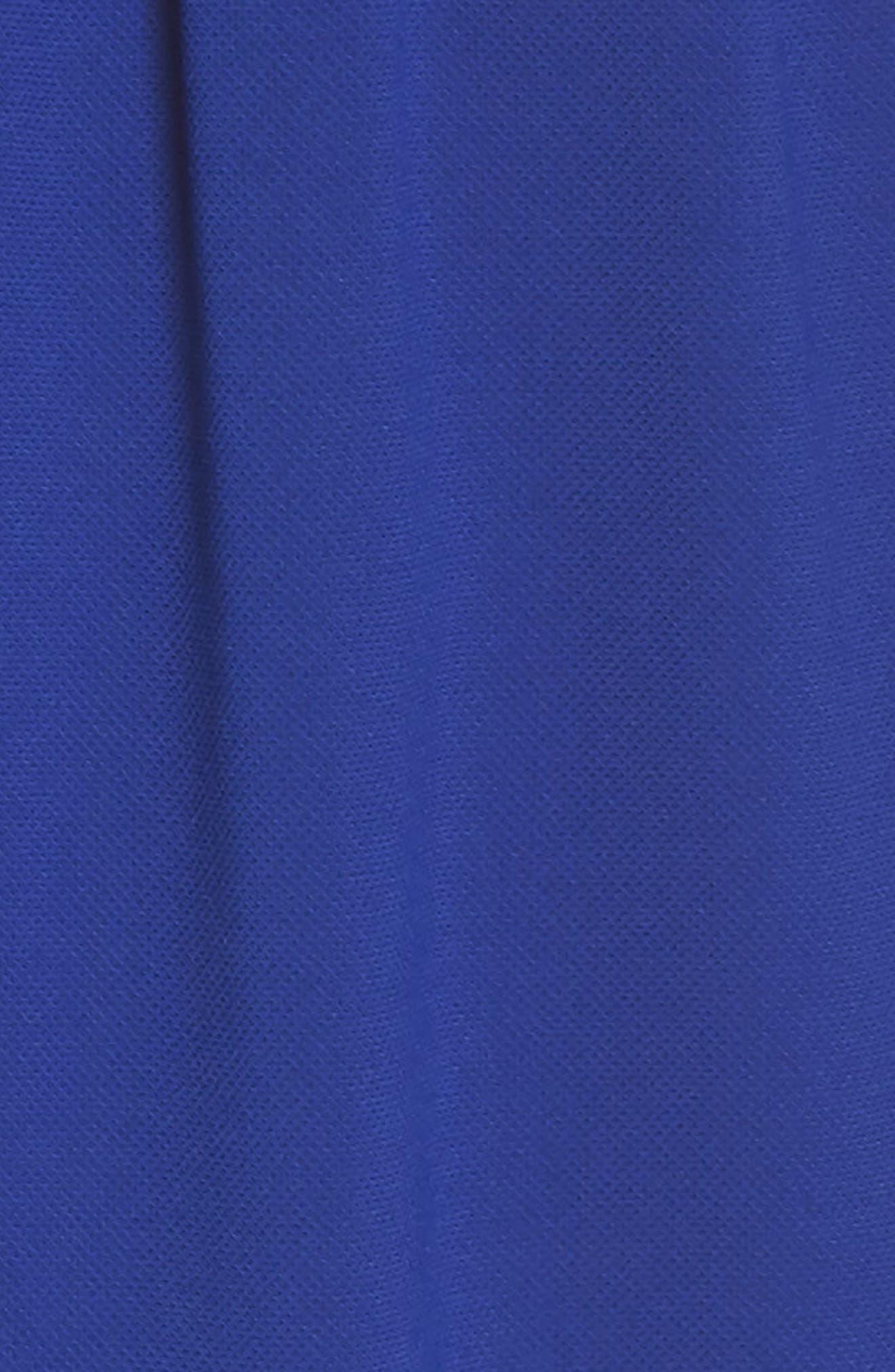 Crepe Blouson Maxi Dress,                             Alternate thumbnail 6, color,                             414