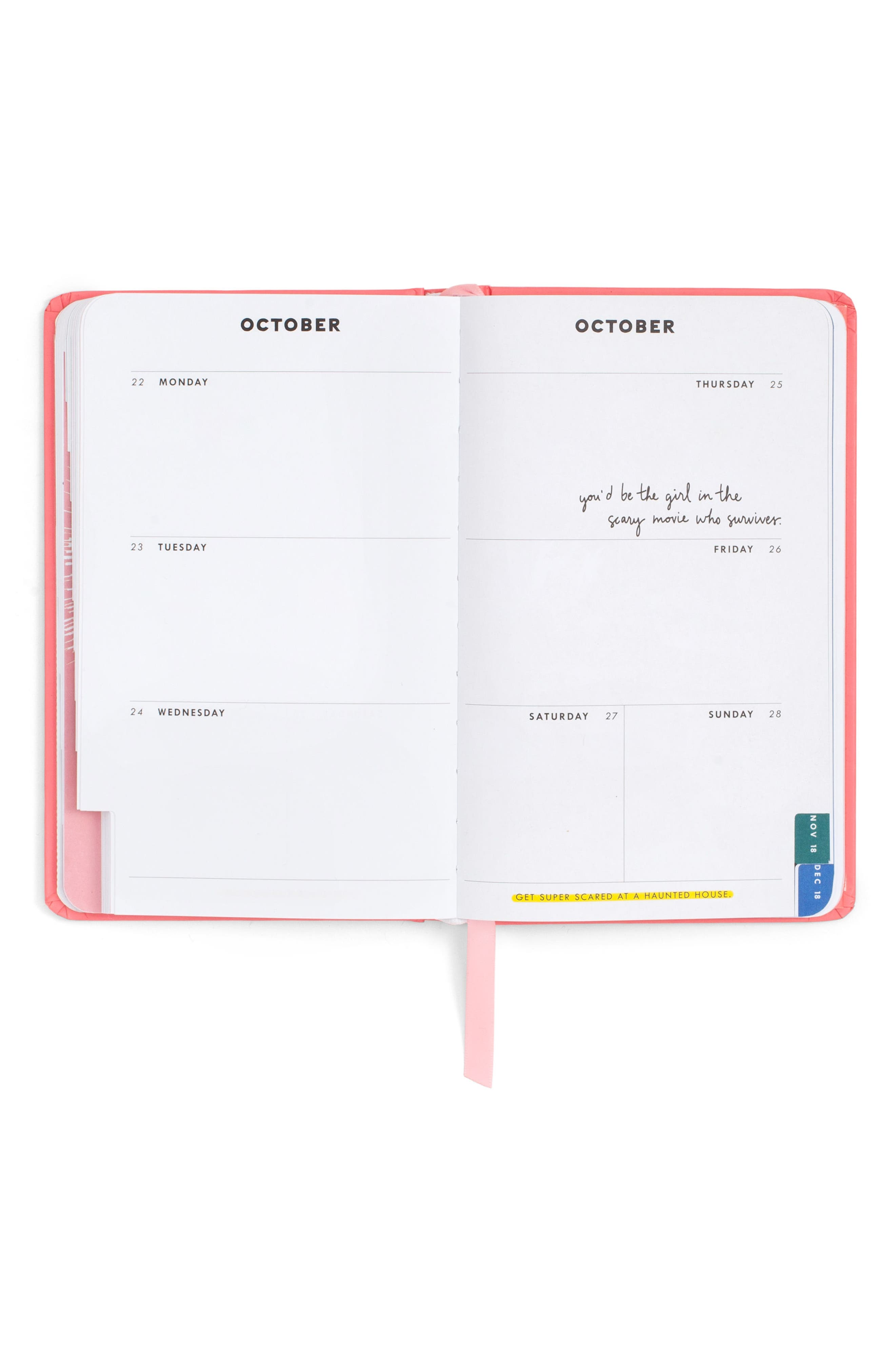 I Am Very Busy 17-Month Hardcover Agenda,                             Alternate thumbnail 2, color,                             650