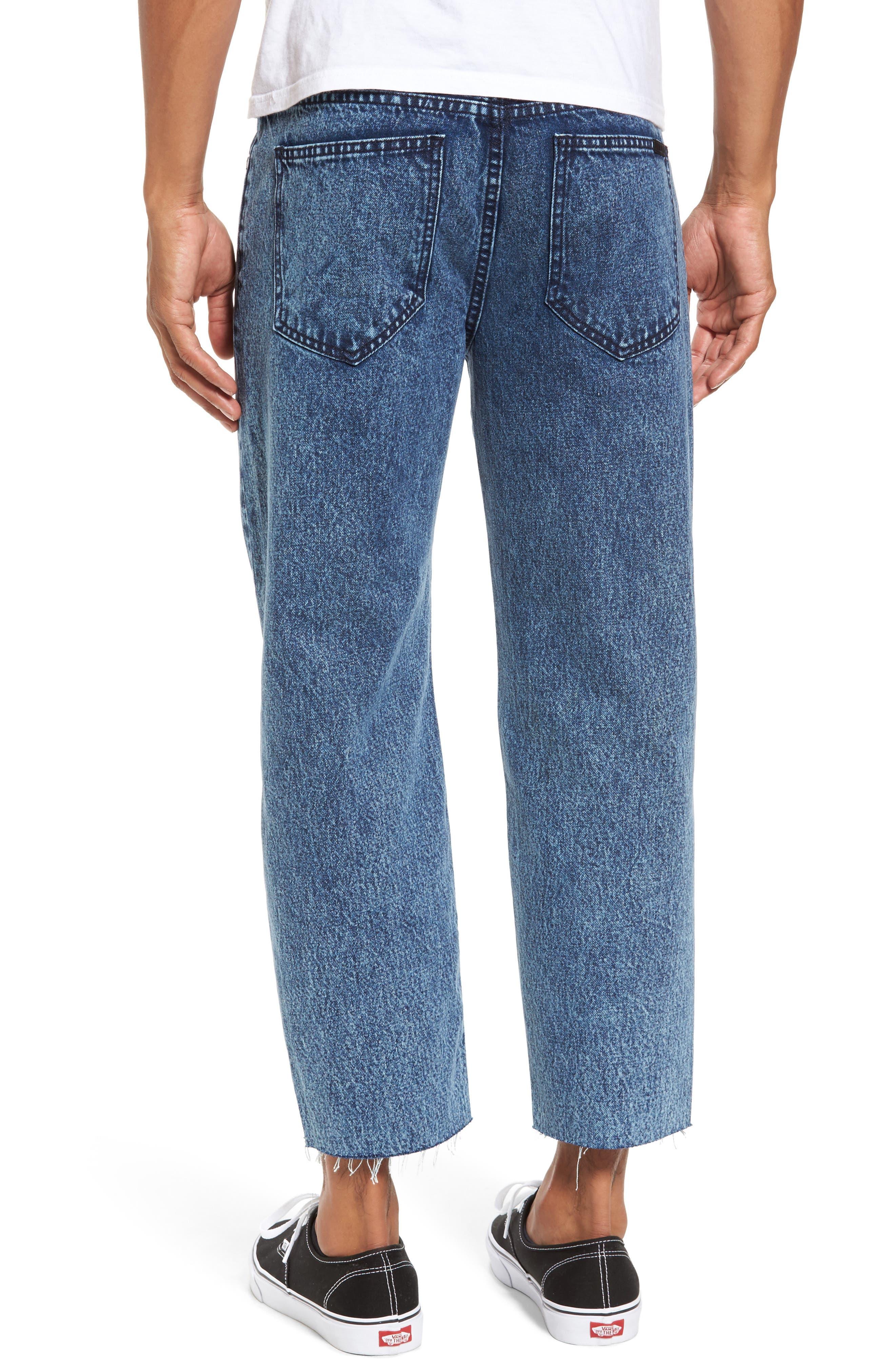 Otis Straight Fit Crop Jeans,                             Alternate thumbnail 2, color,                             400