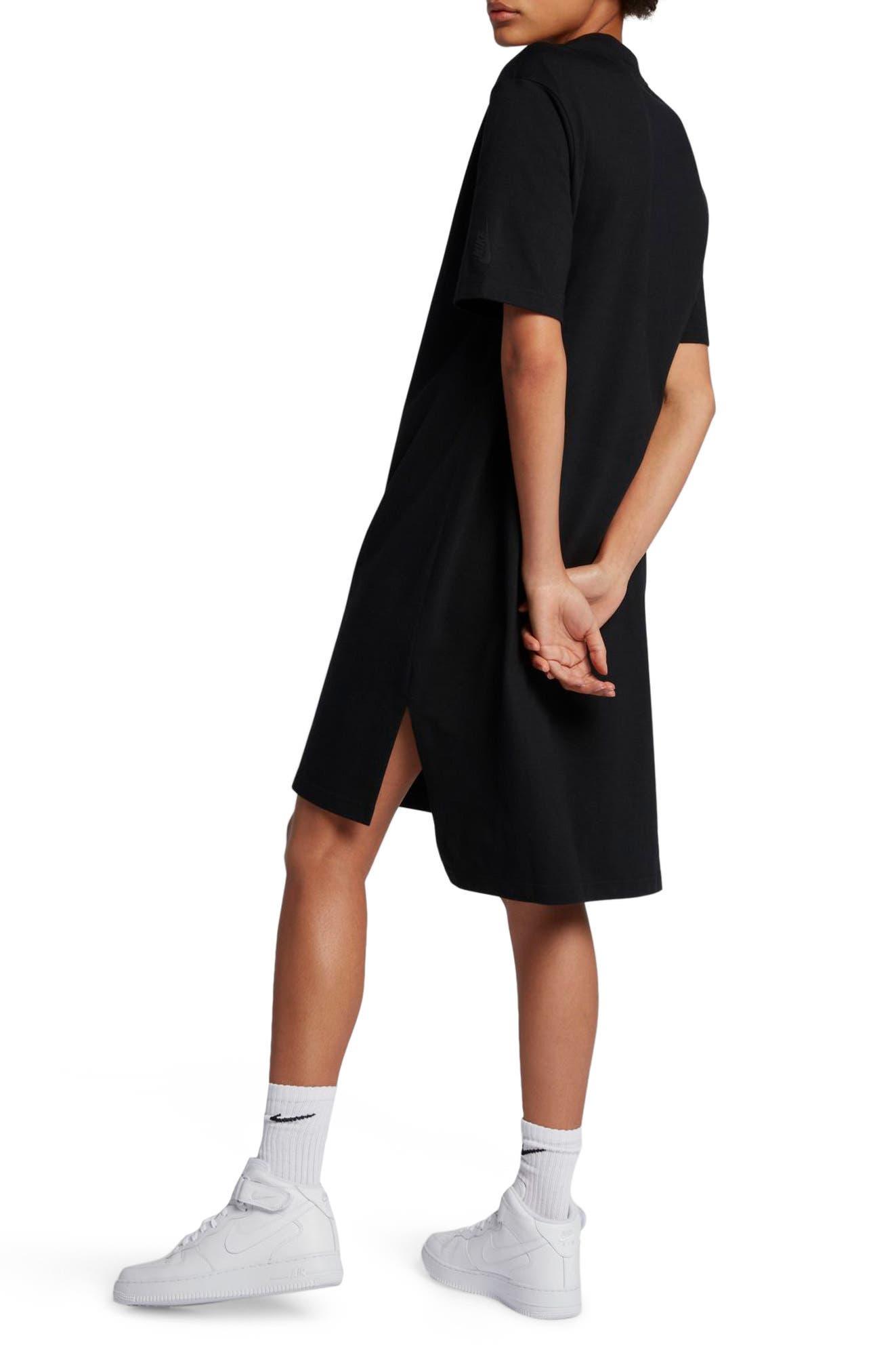 NikeLab Essentials T-Shirt Dress,                             Alternate thumbnail 2, color,                             010