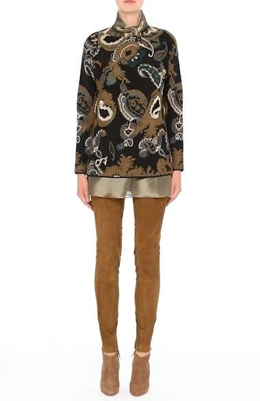 Paisley Jacquard Sweater, video thumbnail