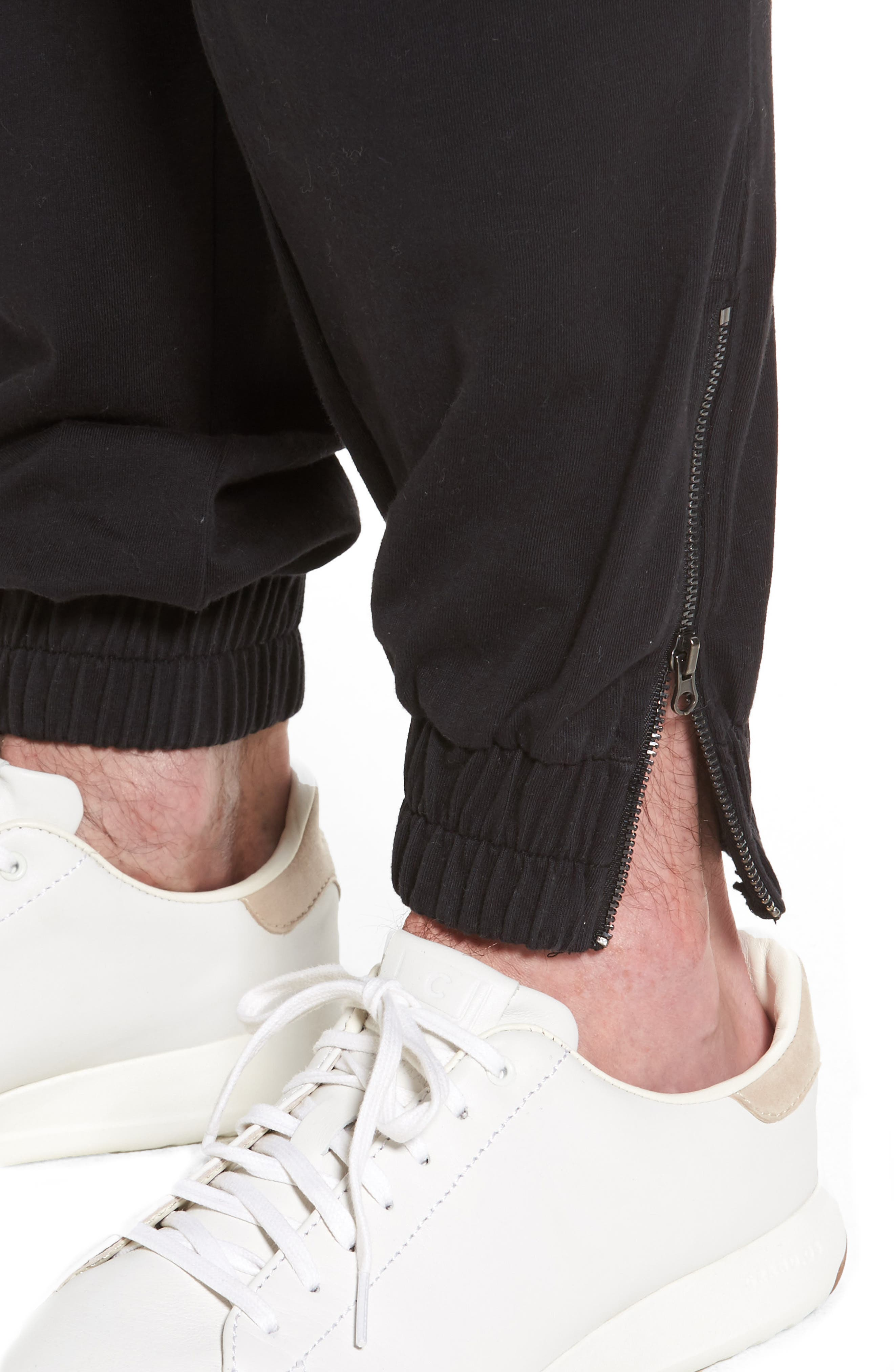 Jersey Cargo Pants,                             Alternate thumbnail 4, color,