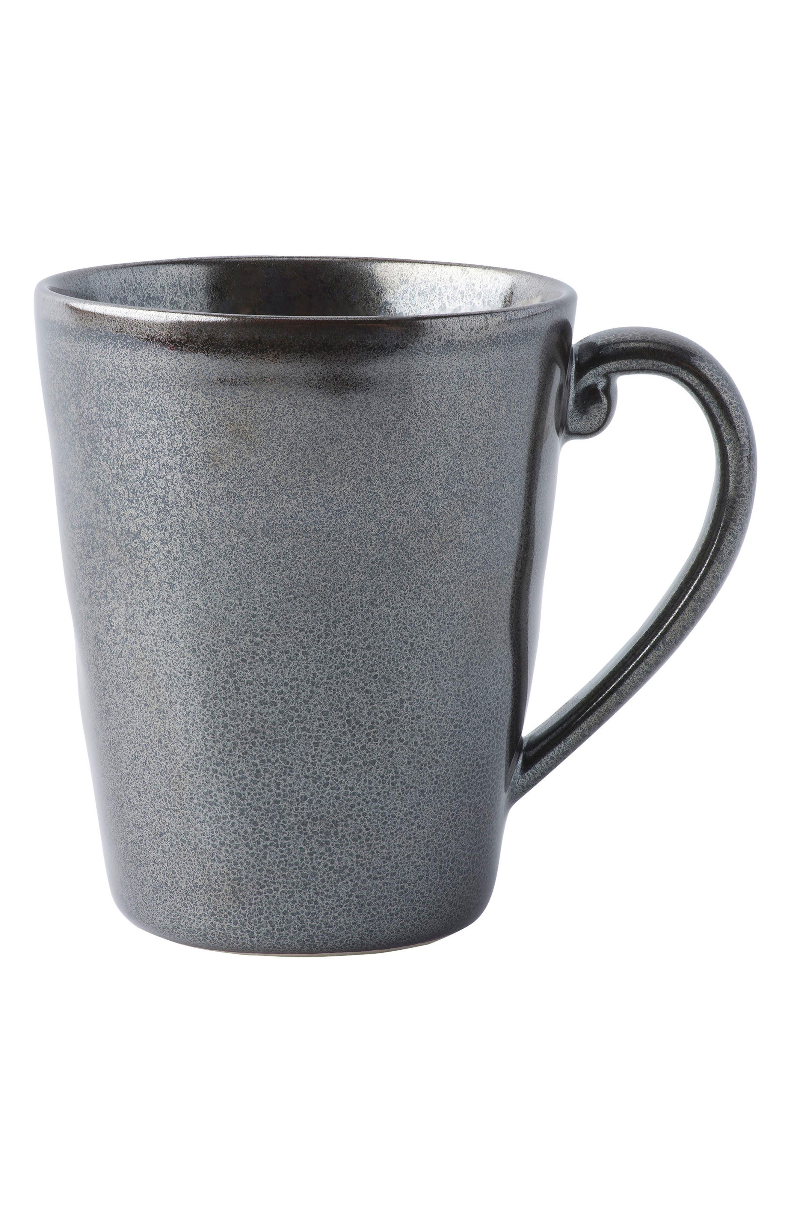 Pewter Stoneware Mug,                         Main,                         color, PEWTER