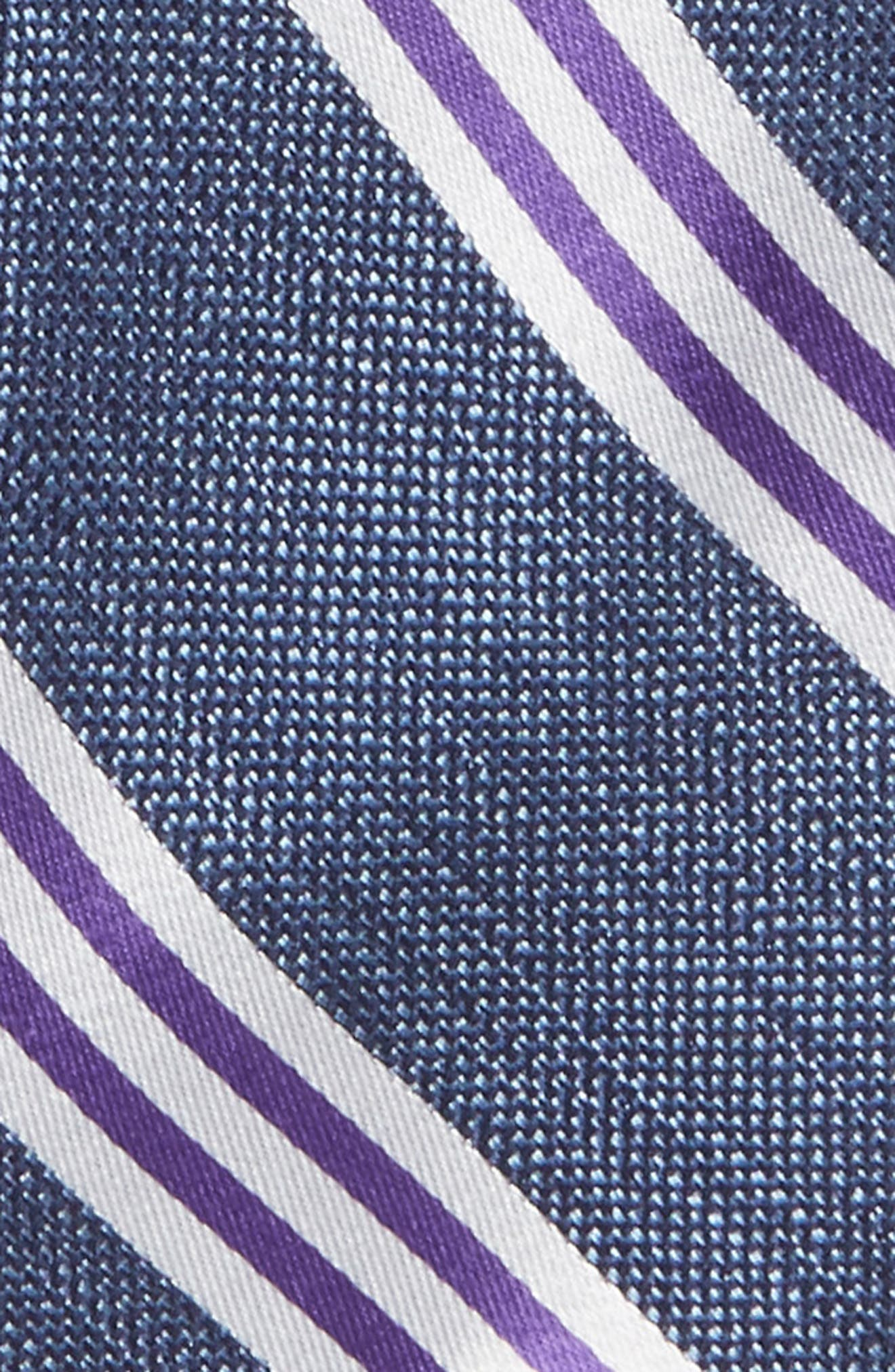 Stripe Silk Tie,                             Alternate thumbnail 2, color,                             500