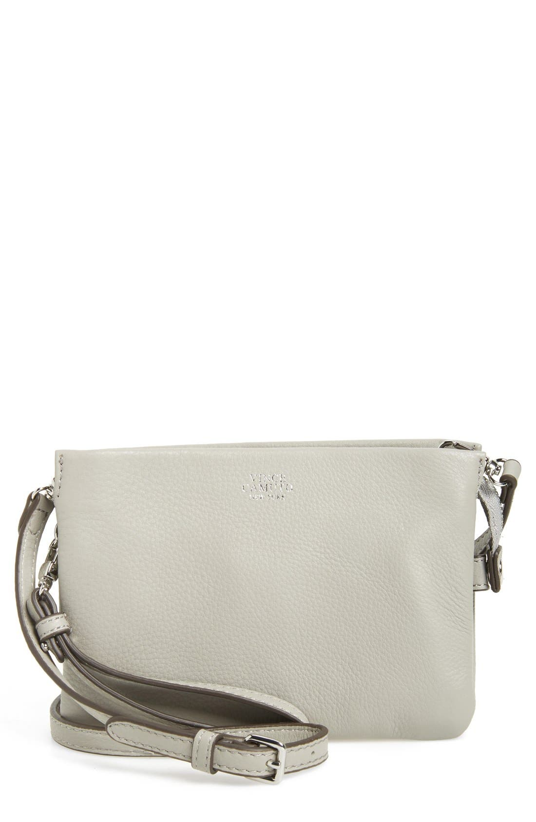 'Cami' Leather Crossbody Bag,                             Main thumbnail 7, color,