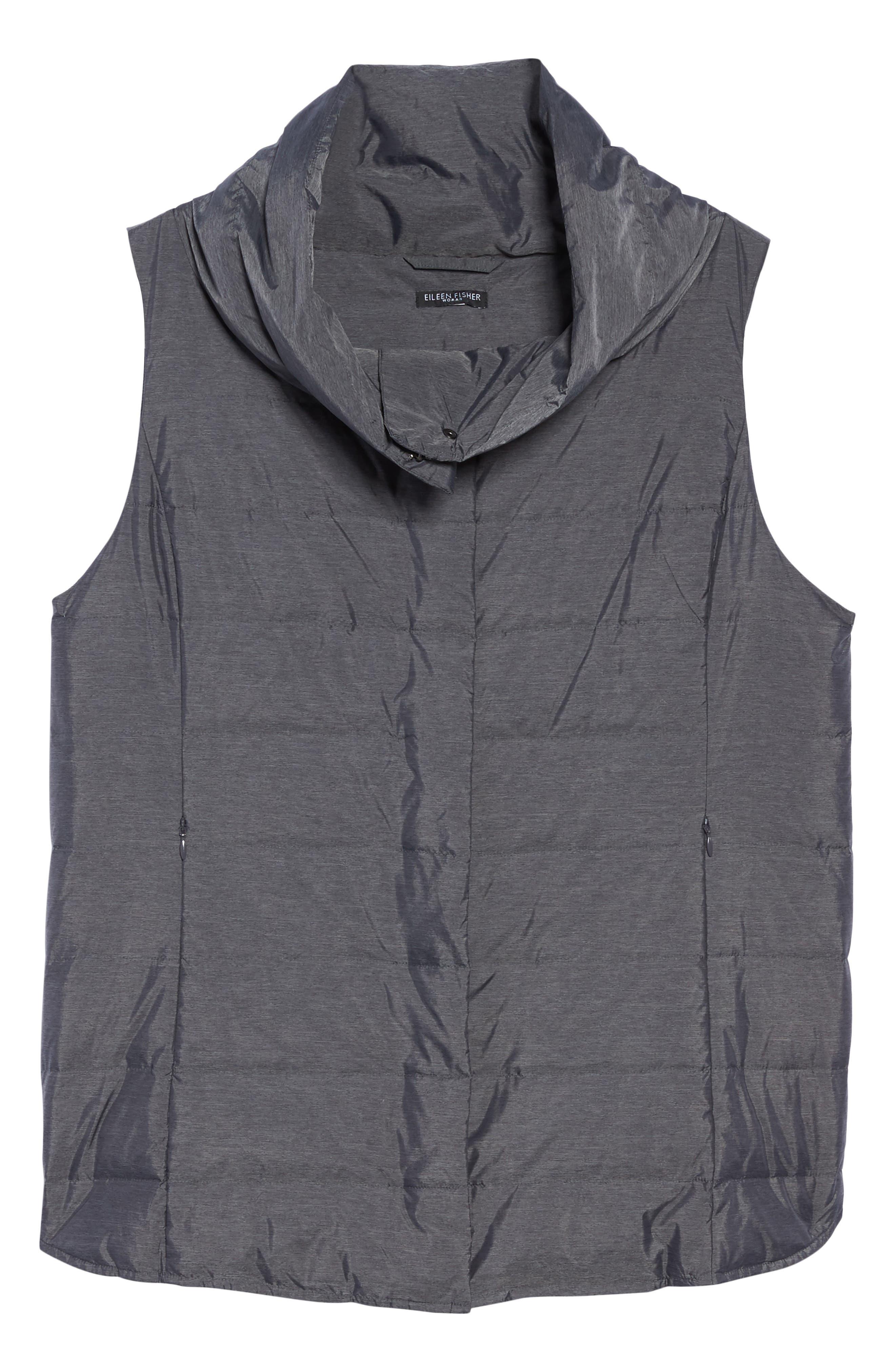 Stand Collar Vest,                             Alternate thumbnail 5, color,                             021
