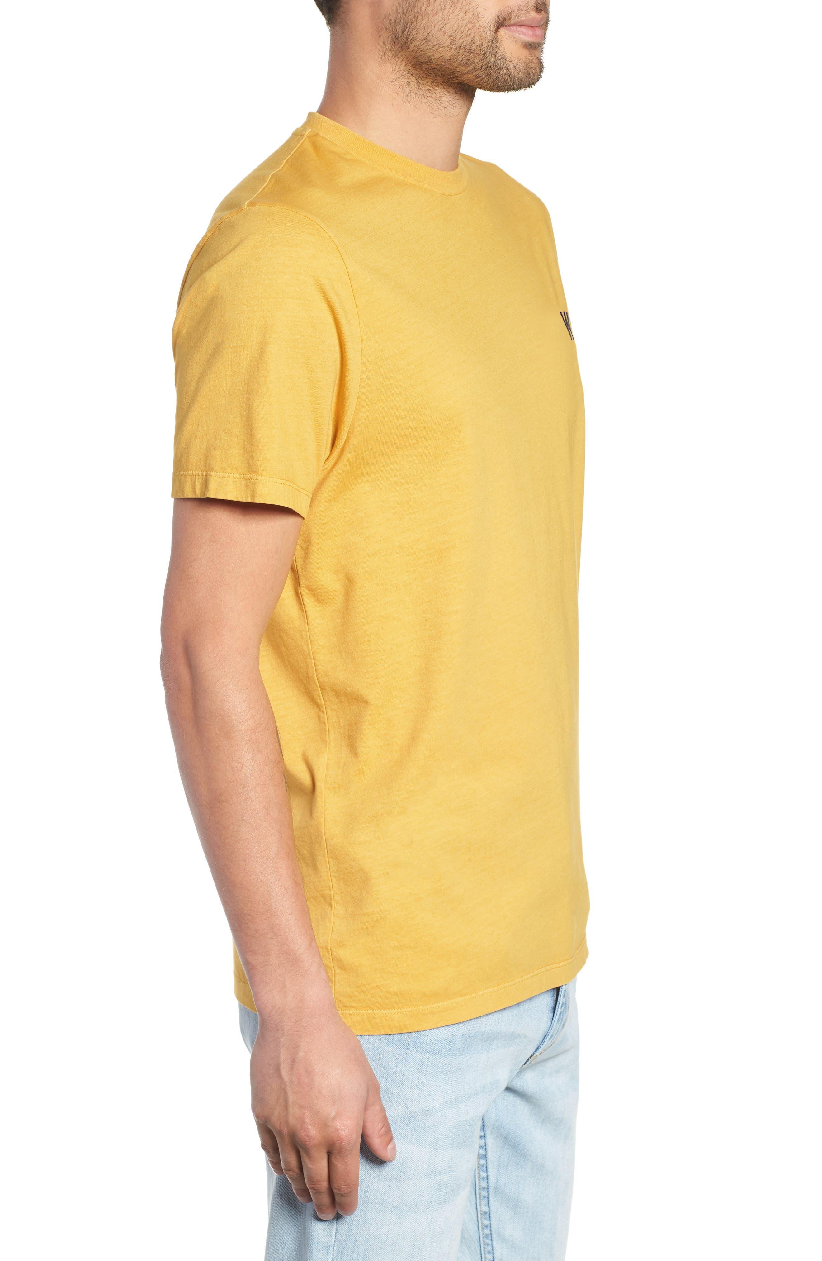 Reid T-Shirt,                             Alternate thumbnail 3, color,                             LEMON