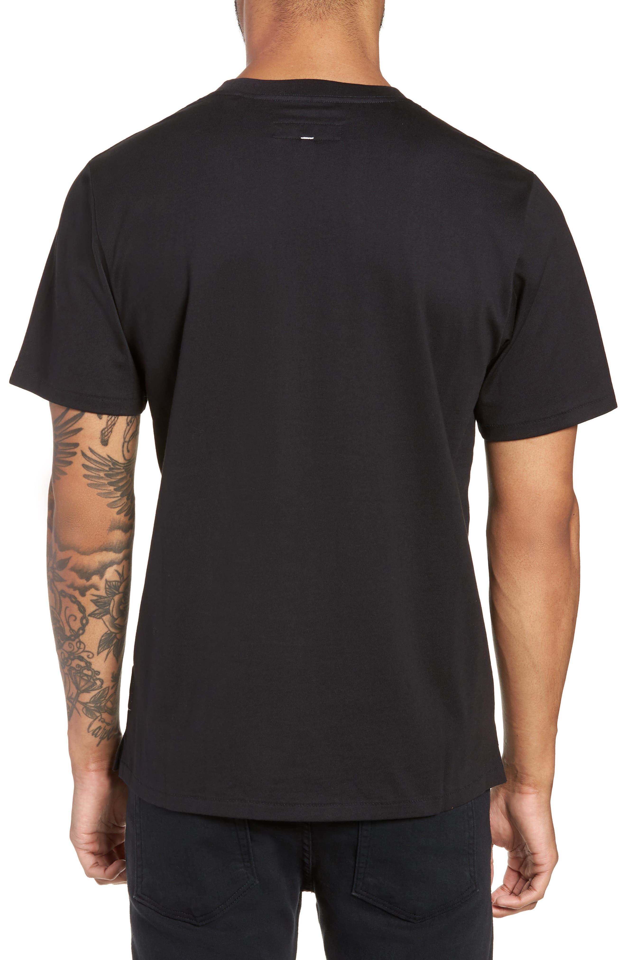 Yin Yang Graphic T-Shirt,                             Alternate thumbnail 2, color,                             001