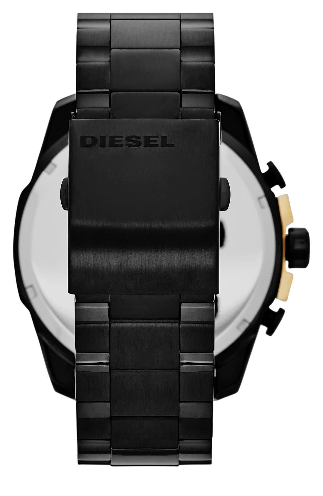 'Mega Chief' Bracelet Watch, 51mm,                             Alternate thumbnail 10, color,