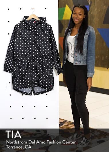 Right as Rain Packable Print Hooded Raincoat, sales video thumbnail