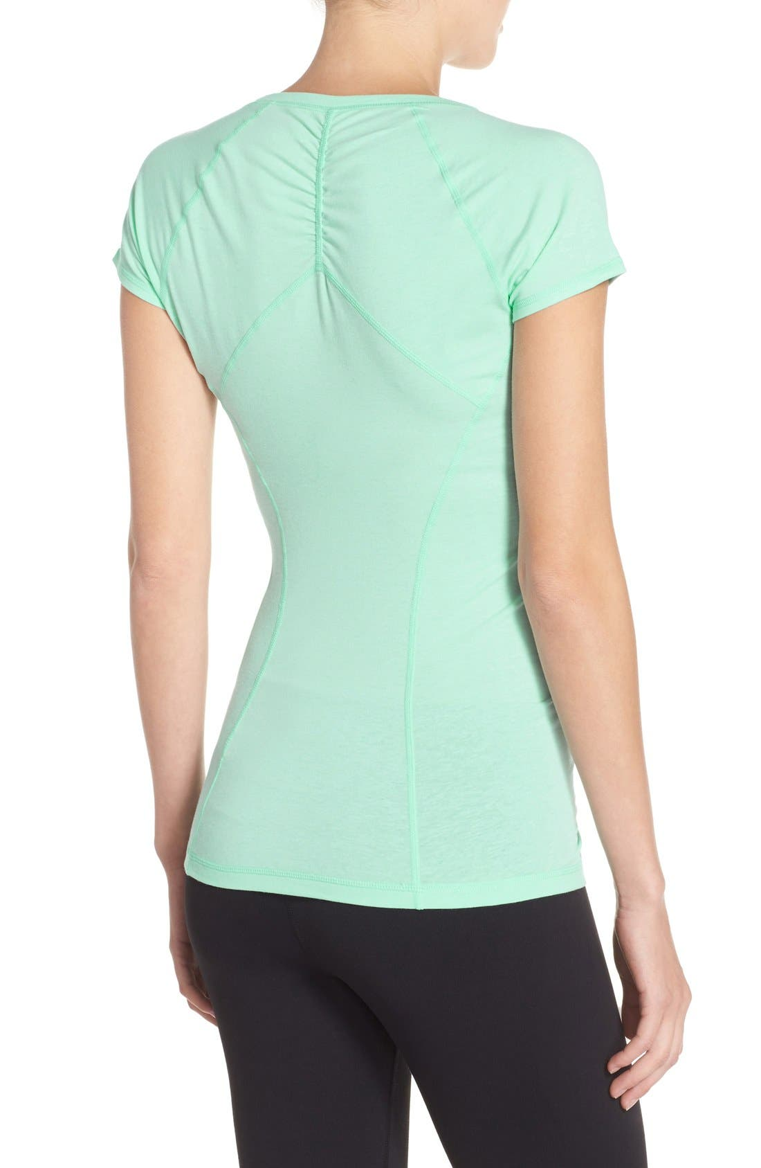 'Z 6' Ruched Tee,                             Alternate thumbnail 66, color,