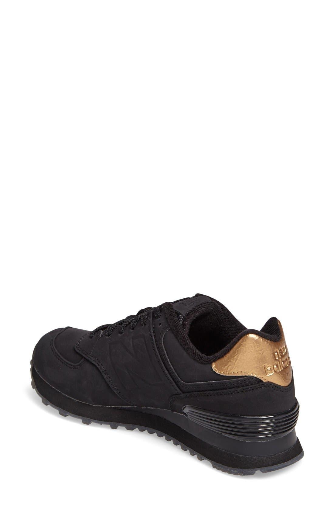 Q416 Retro 574 Sneaker,                             Alternate thumbnail 4, color,                             009