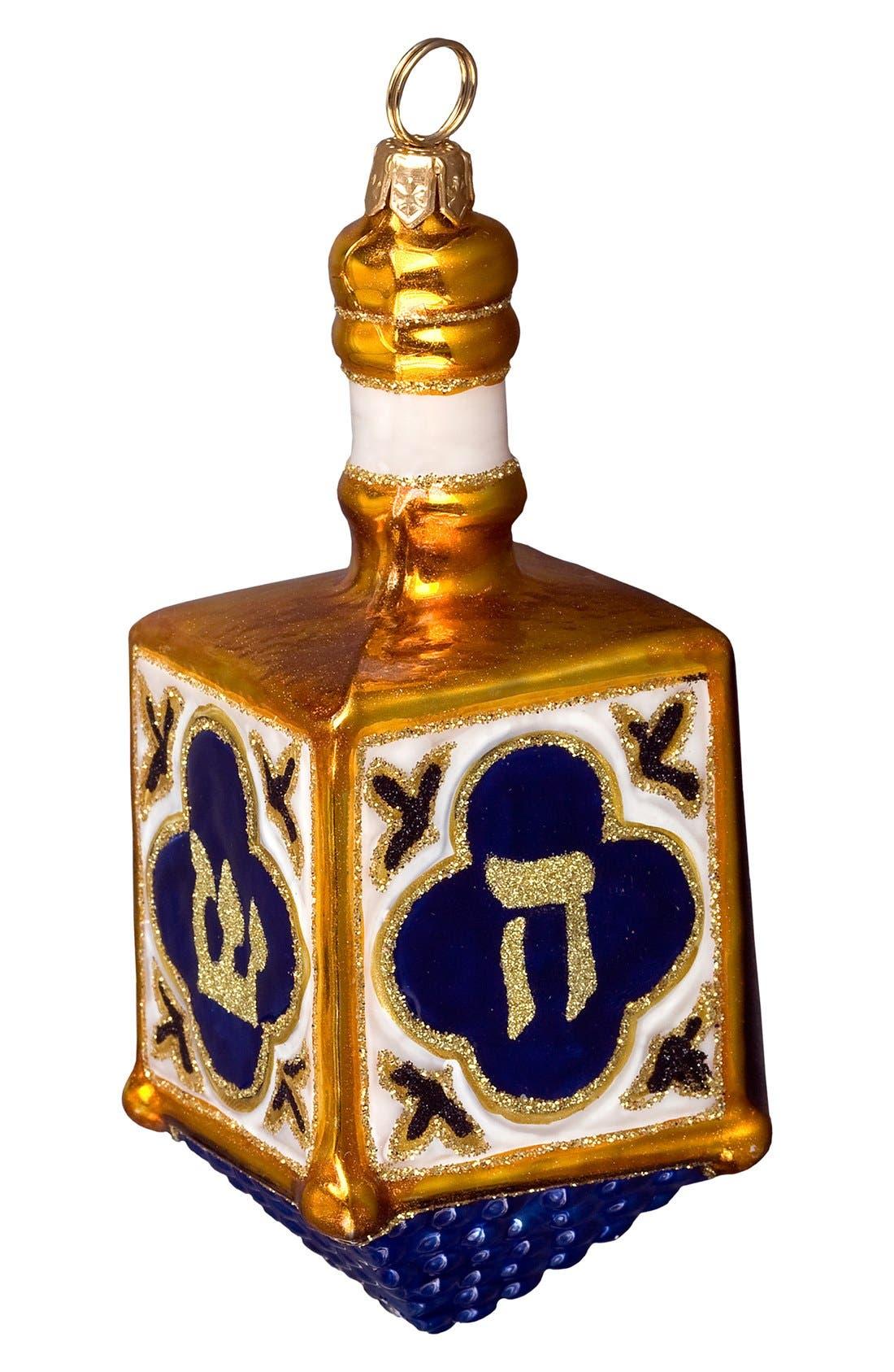 Dreidel Decoration,                             Main thumbnail 1, color,                             BLUE
